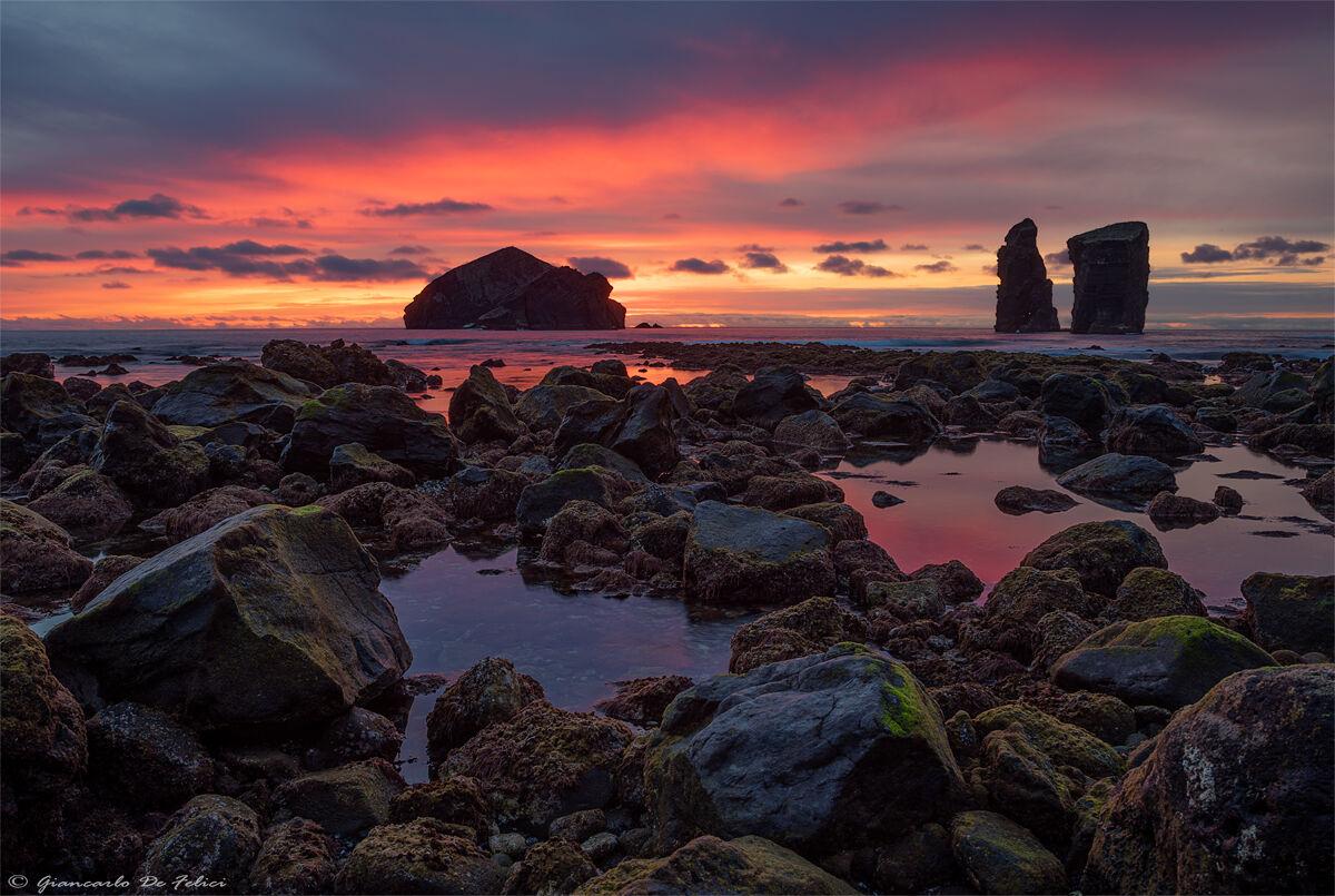Sunset at Mosteiros...