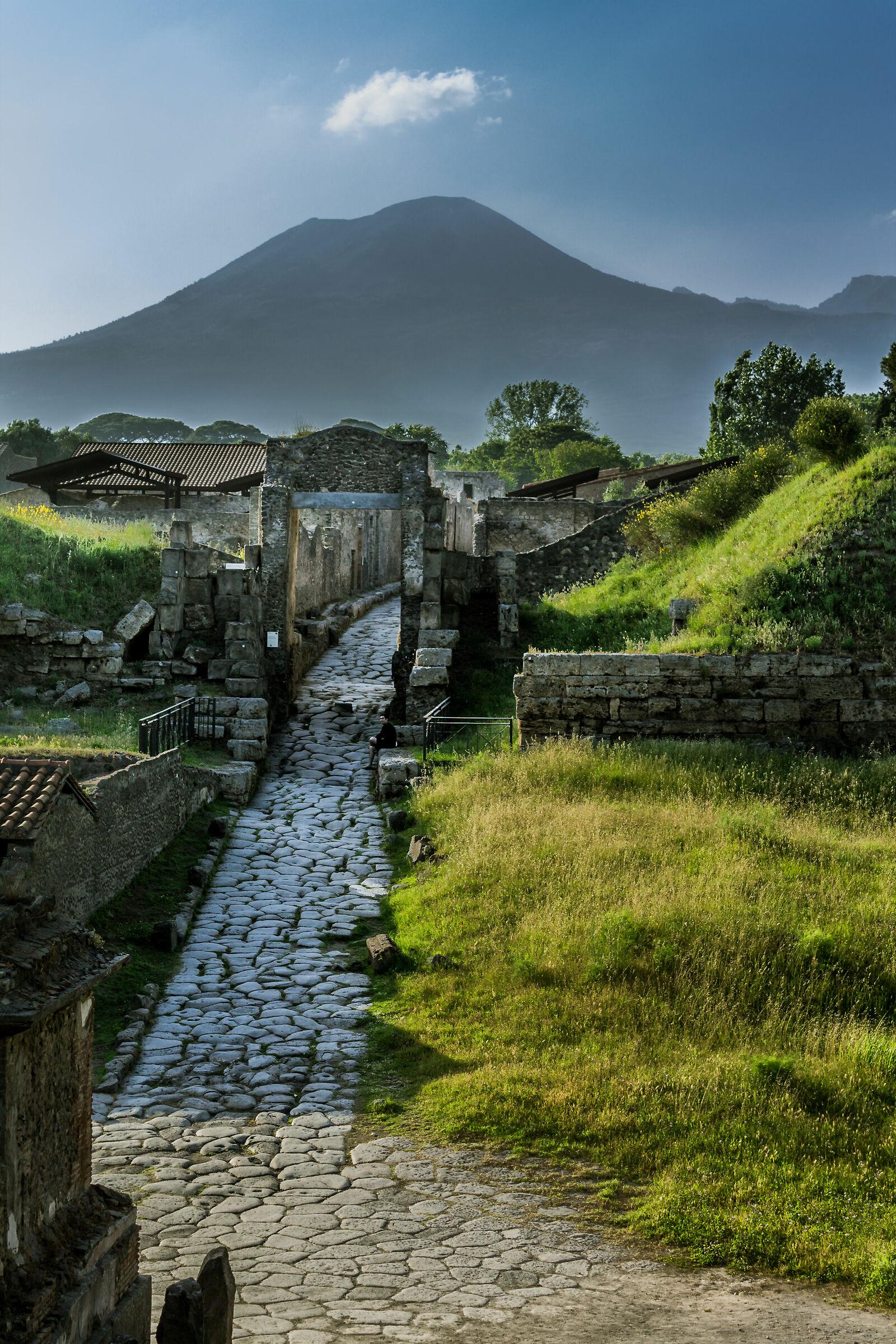 Pompeii's door......