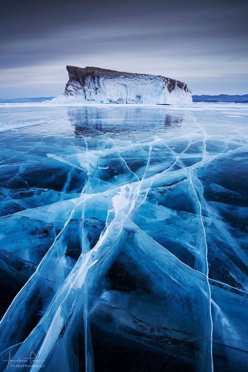 Il labirinto di ghiaccio...