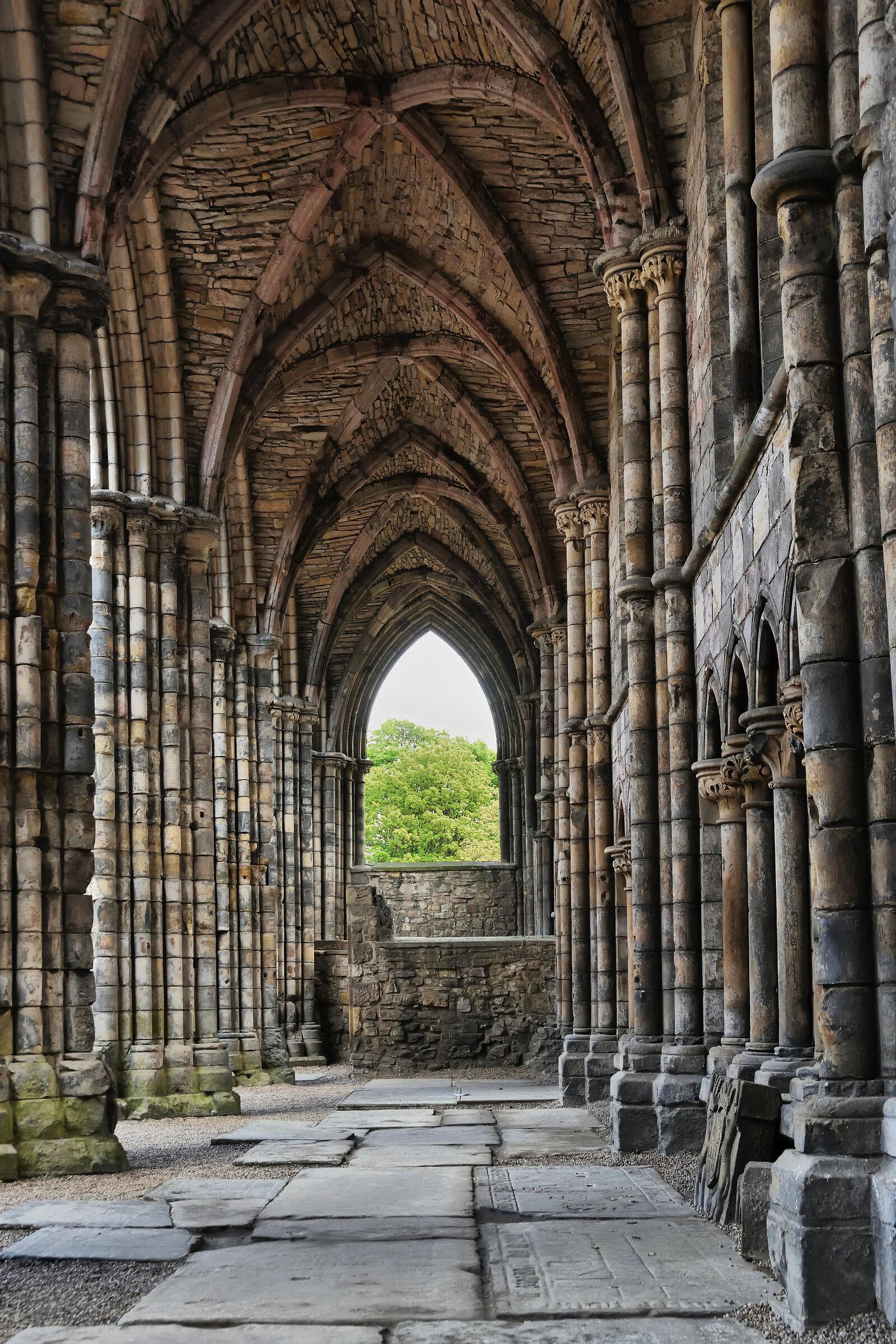 Edimburgh - Holyrood Abbey...