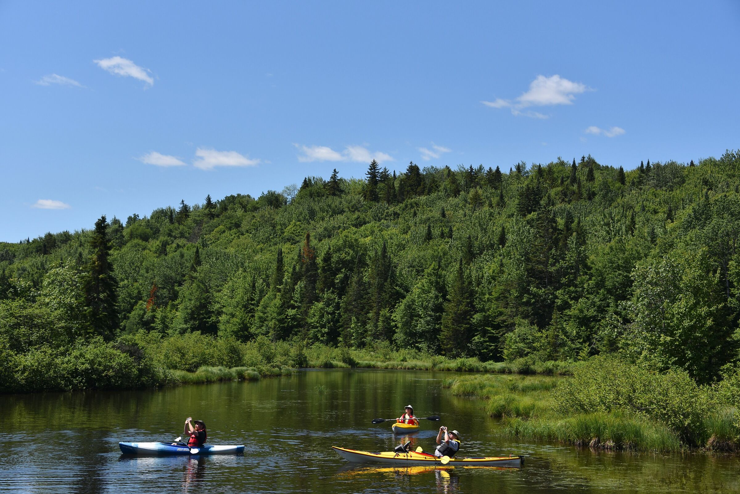 Marais du Nord - Quebec - Kayaking and photography...