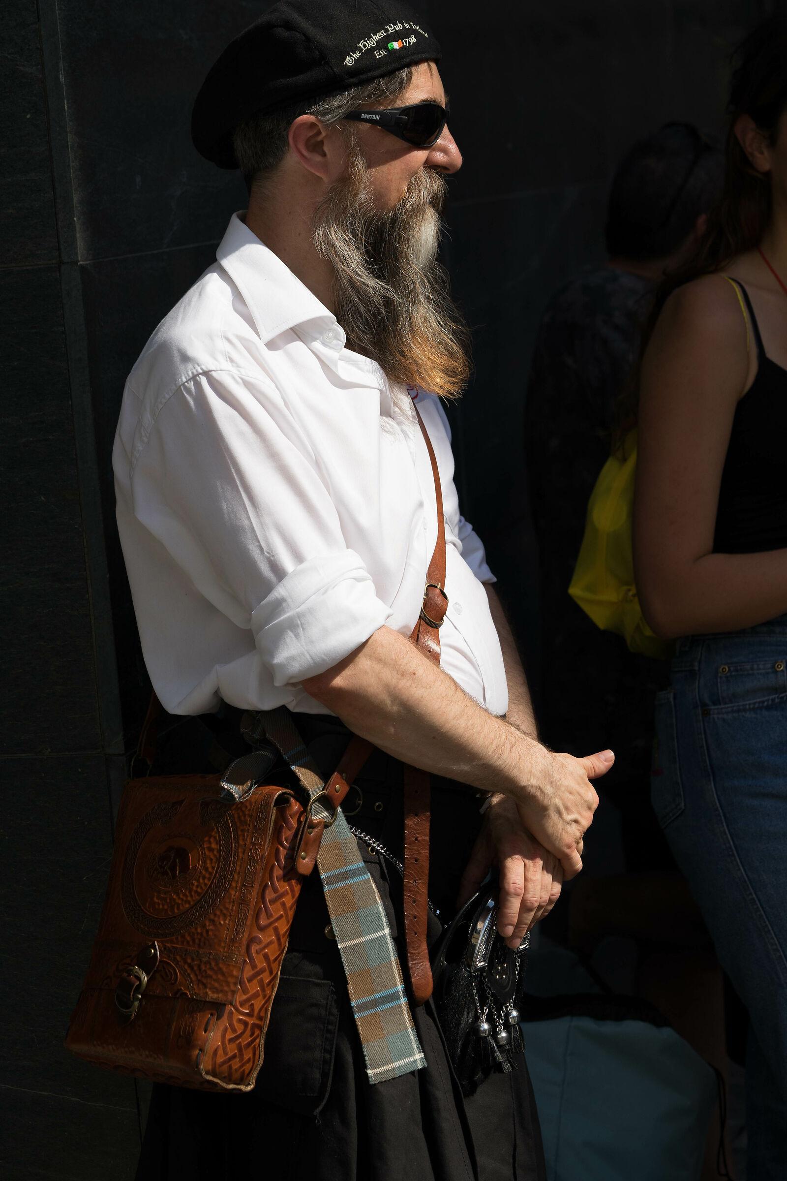 Celtic beard...
