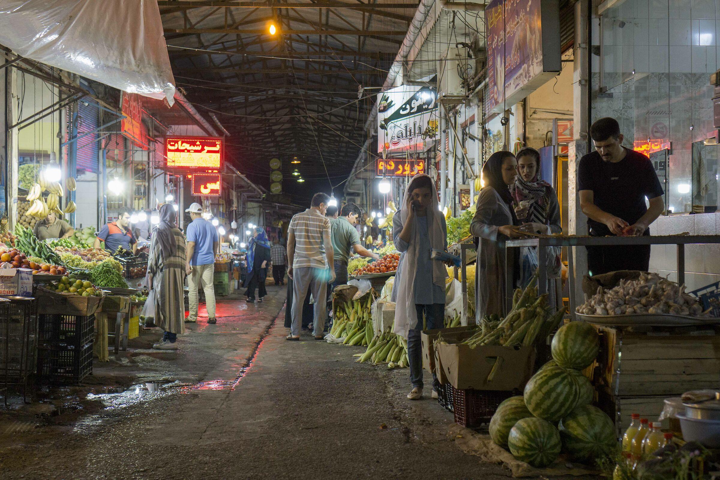 Ramsar, market...