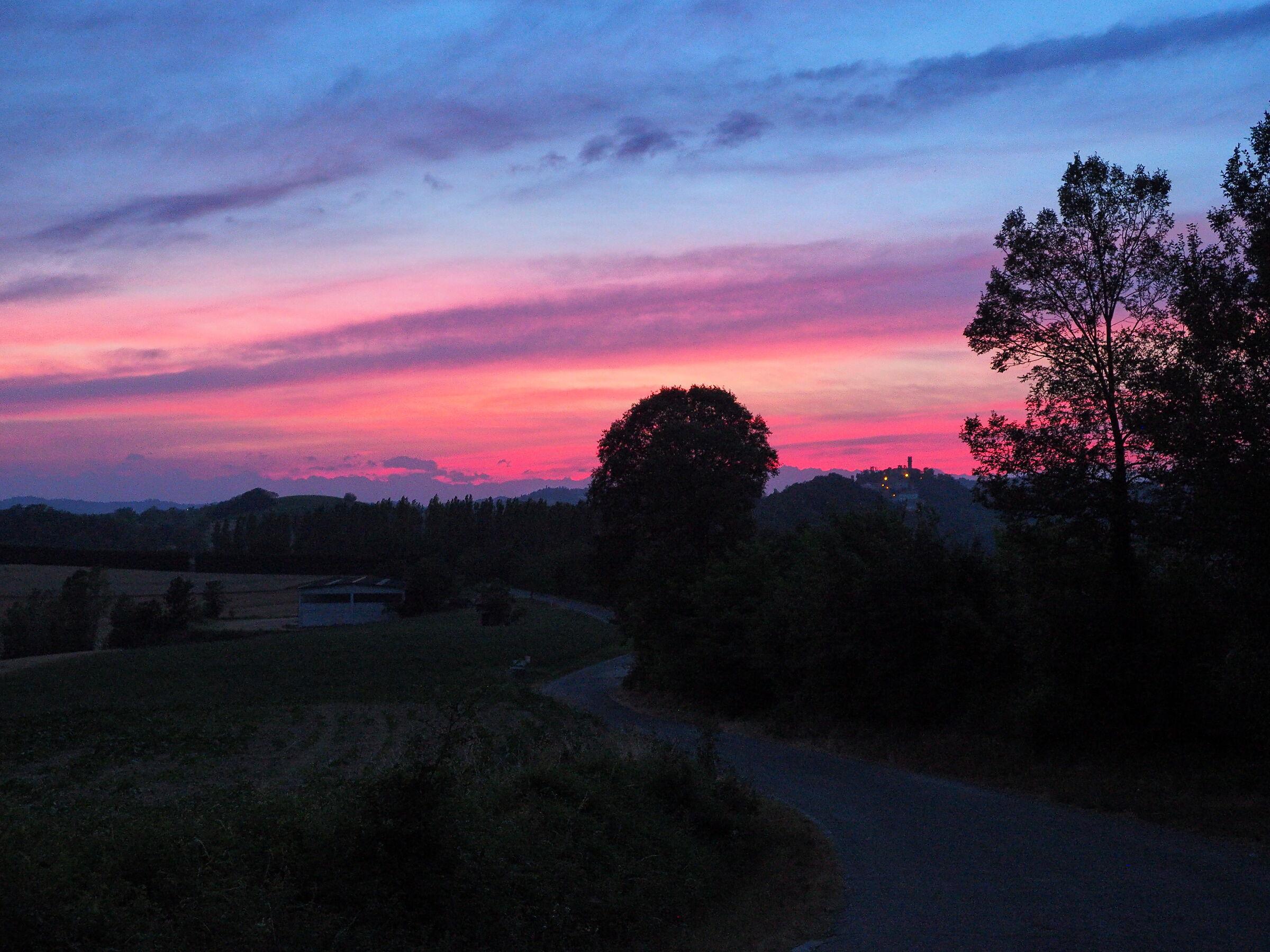 Sunset Monferrino...