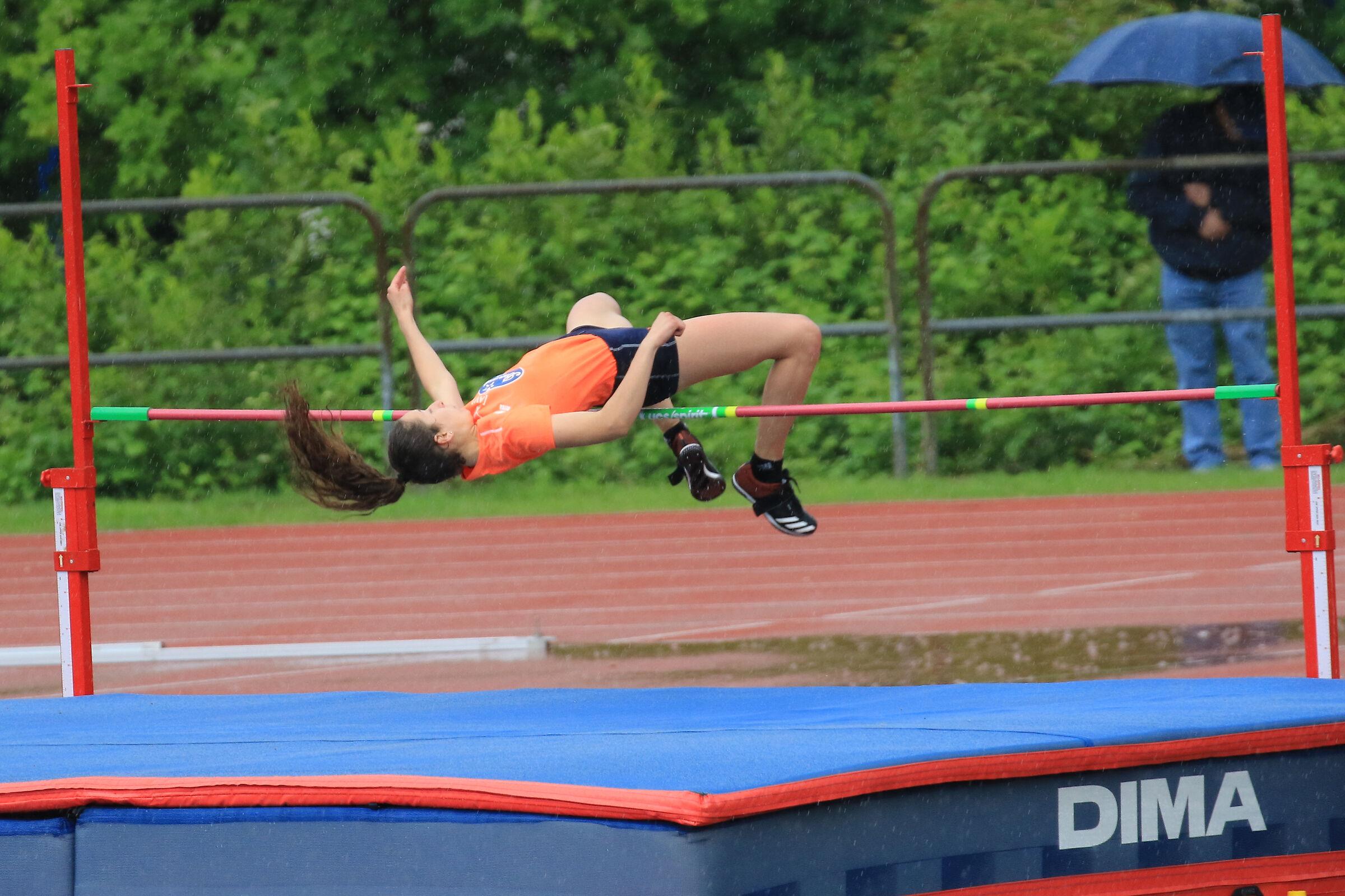 high jump ...