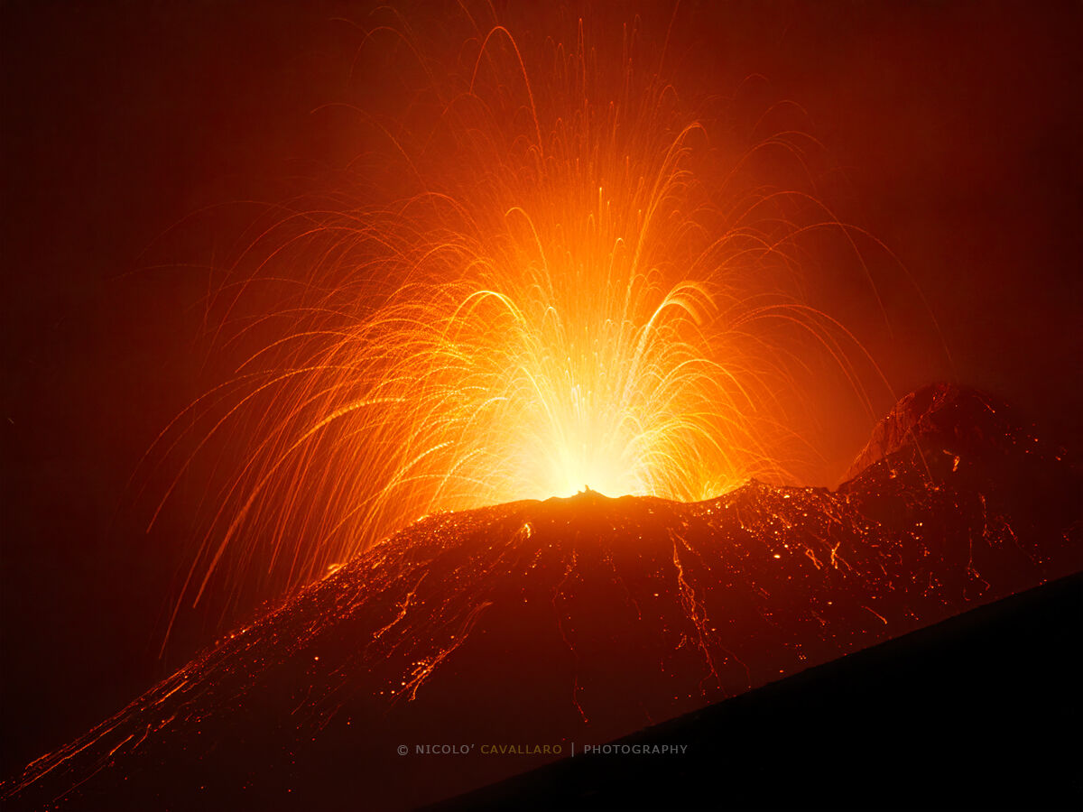 Etna - Eruption 18 July 2019...