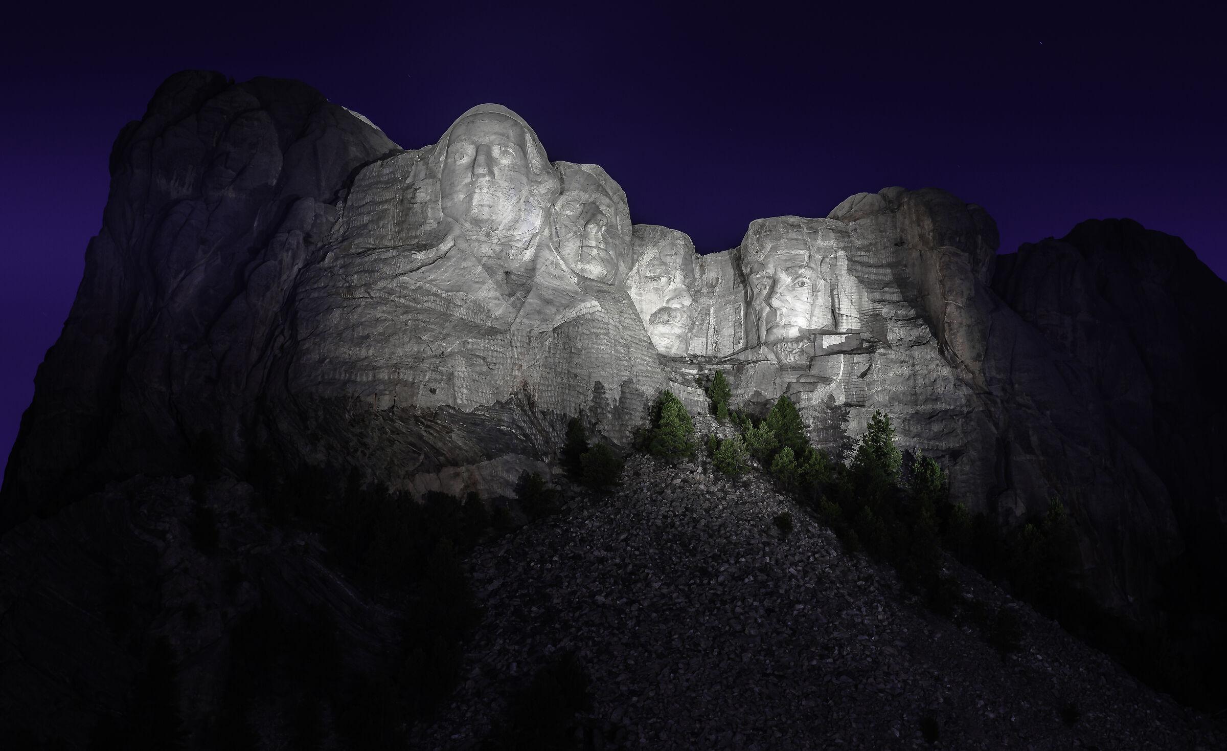 Mount Rushmore National Memorial...