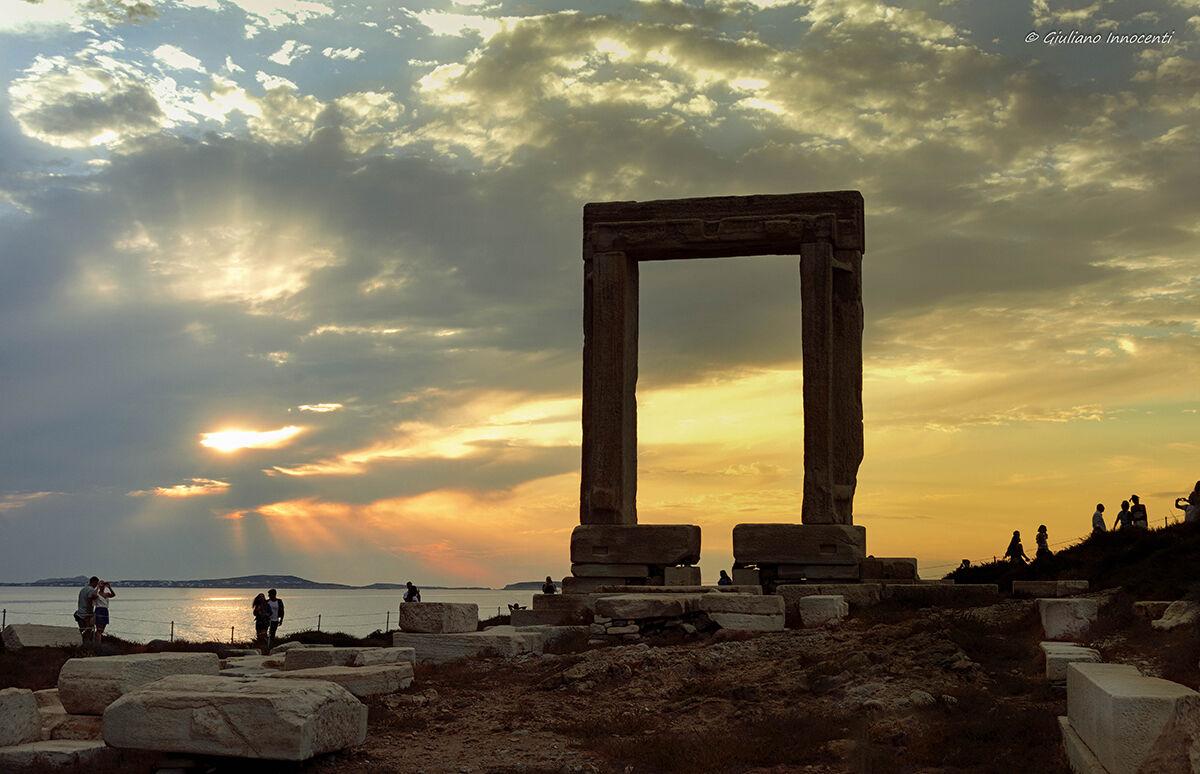 The Port of the Temple of Apollo...
