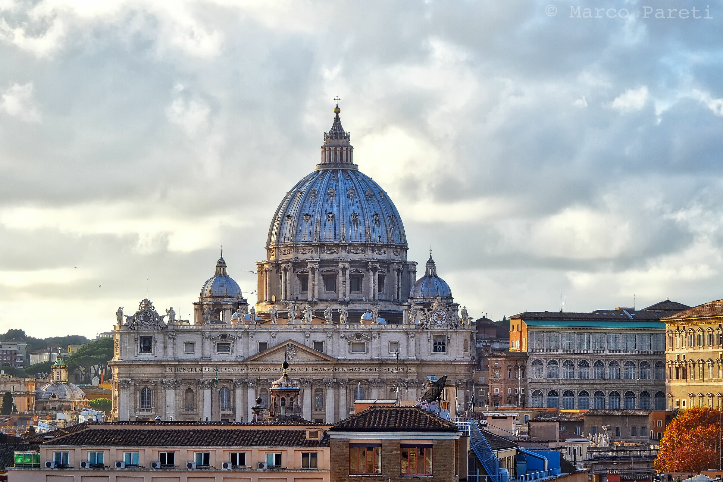 From Castel Sant'Angelo...
