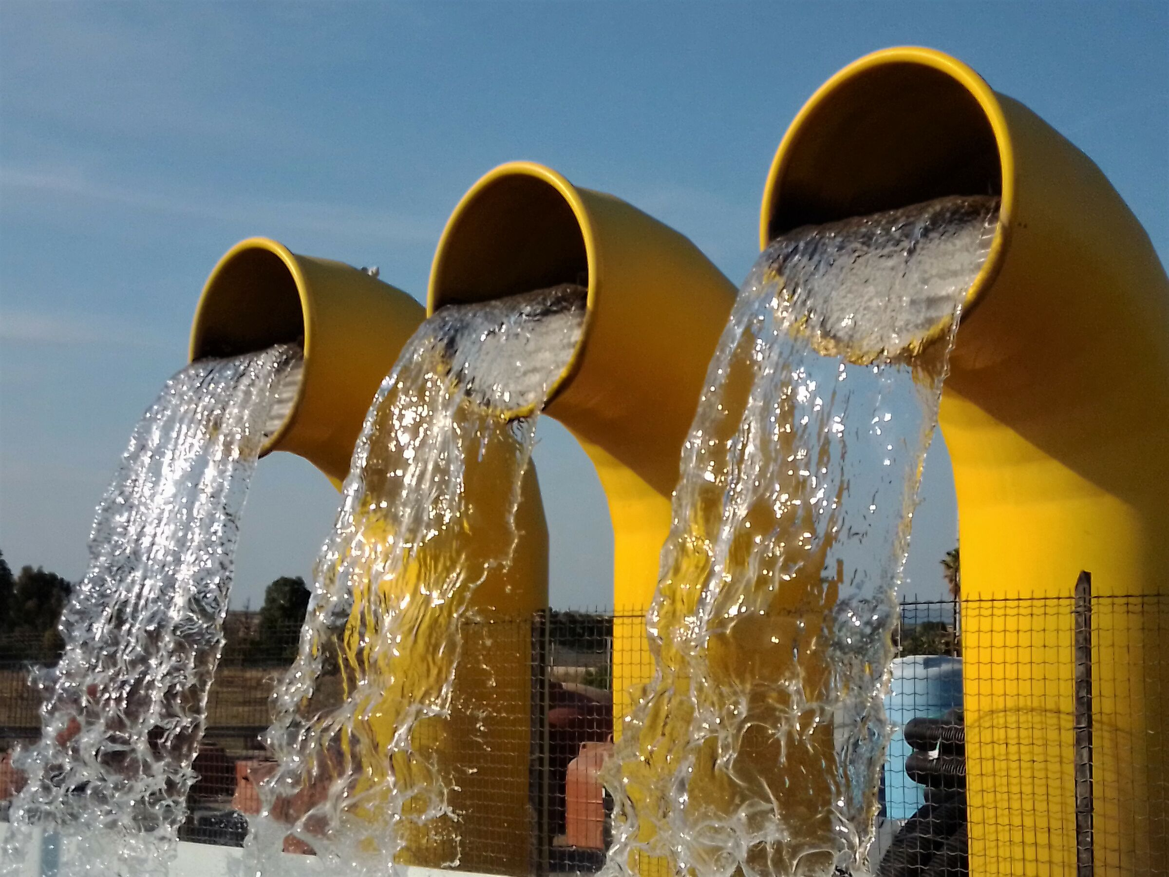 Tris of water.......