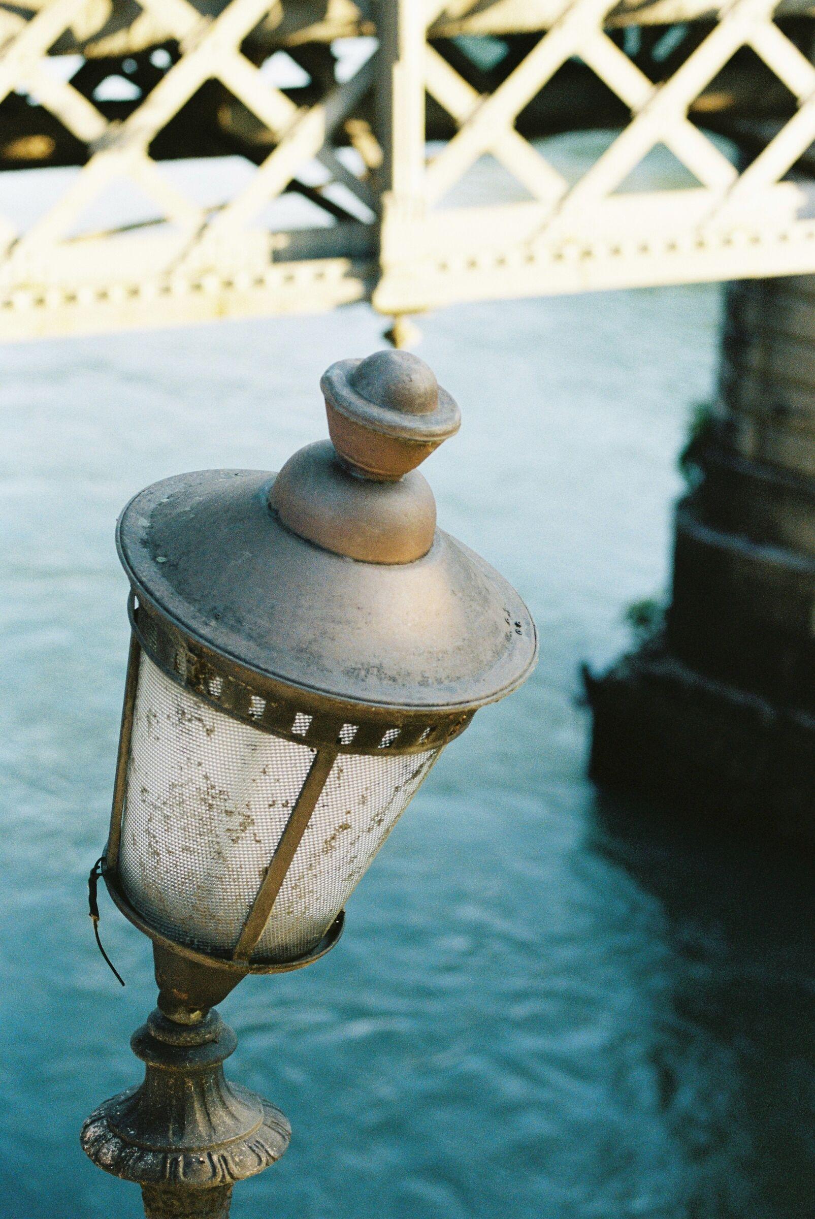 Tiber embankment lamp...