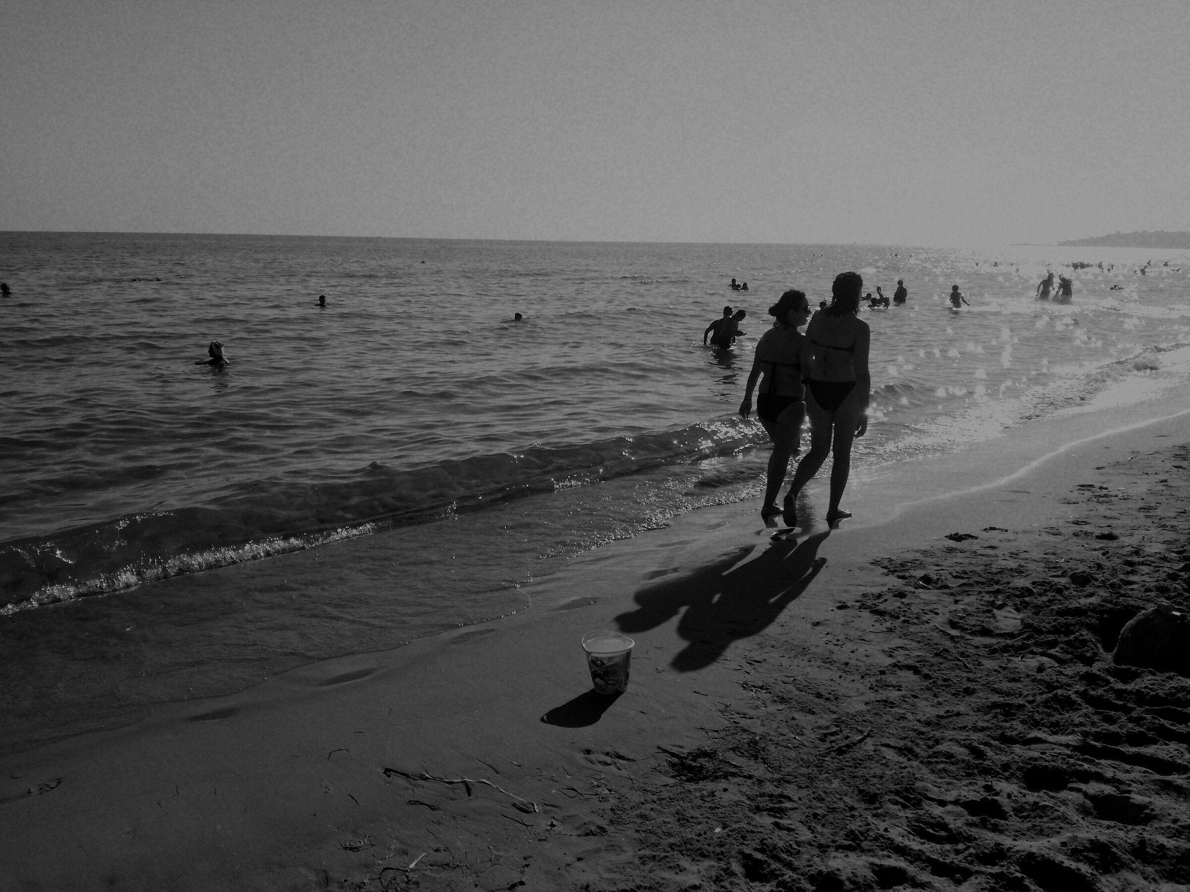 Sun and sand...
