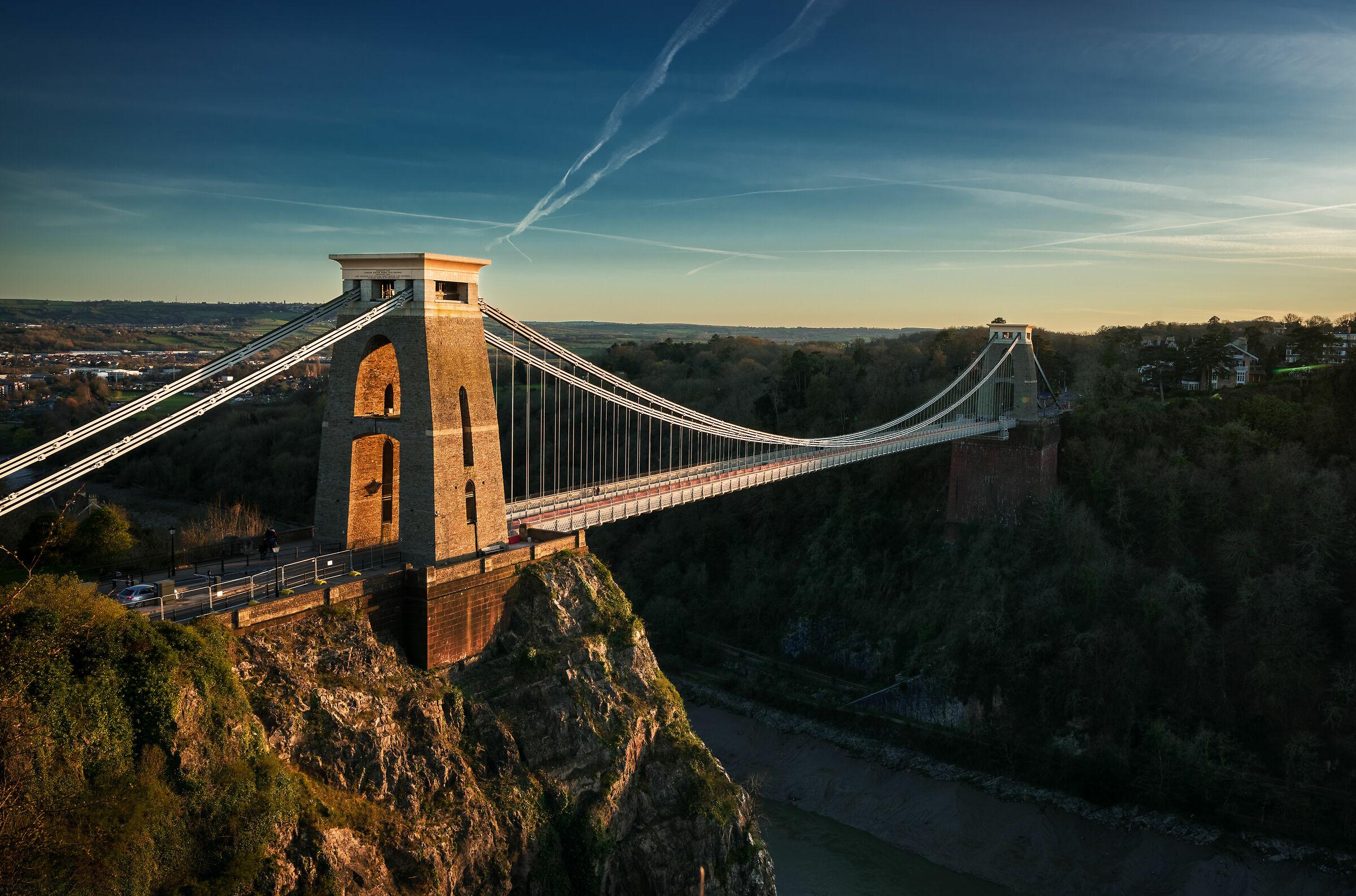 Clifton Bridge, In...