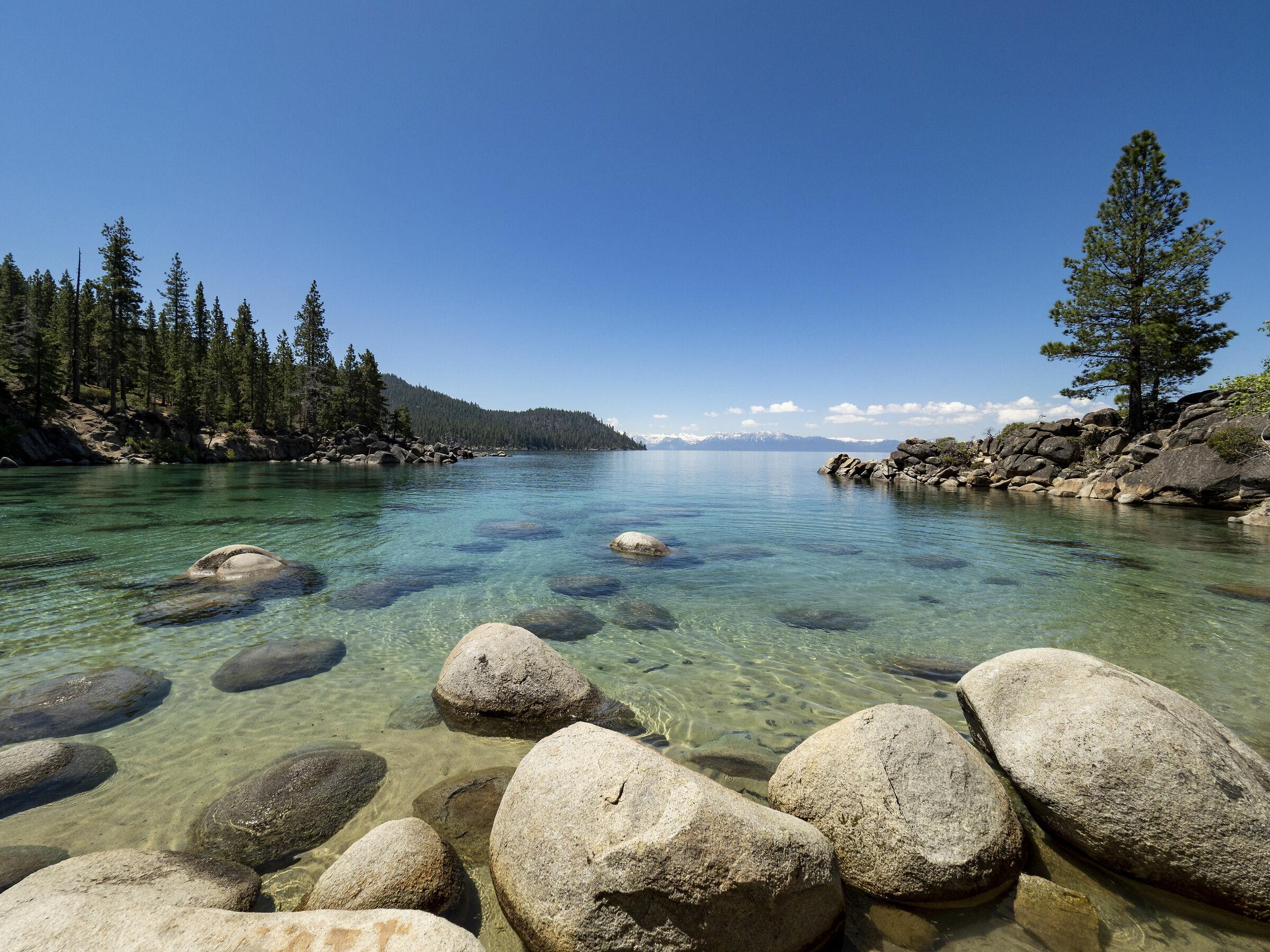 Secret cove, lago Tahoe...