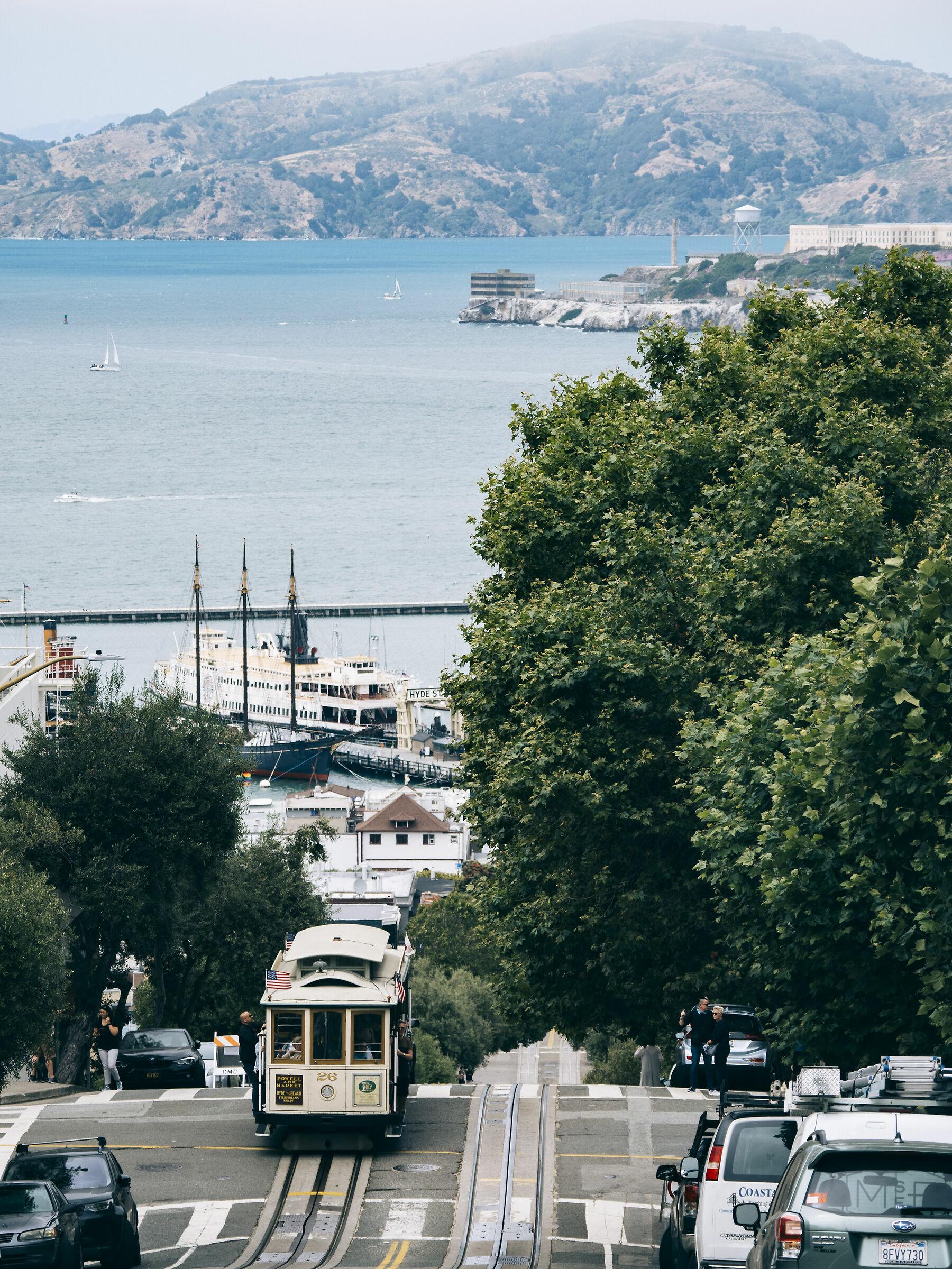 Vista di San Francisco...