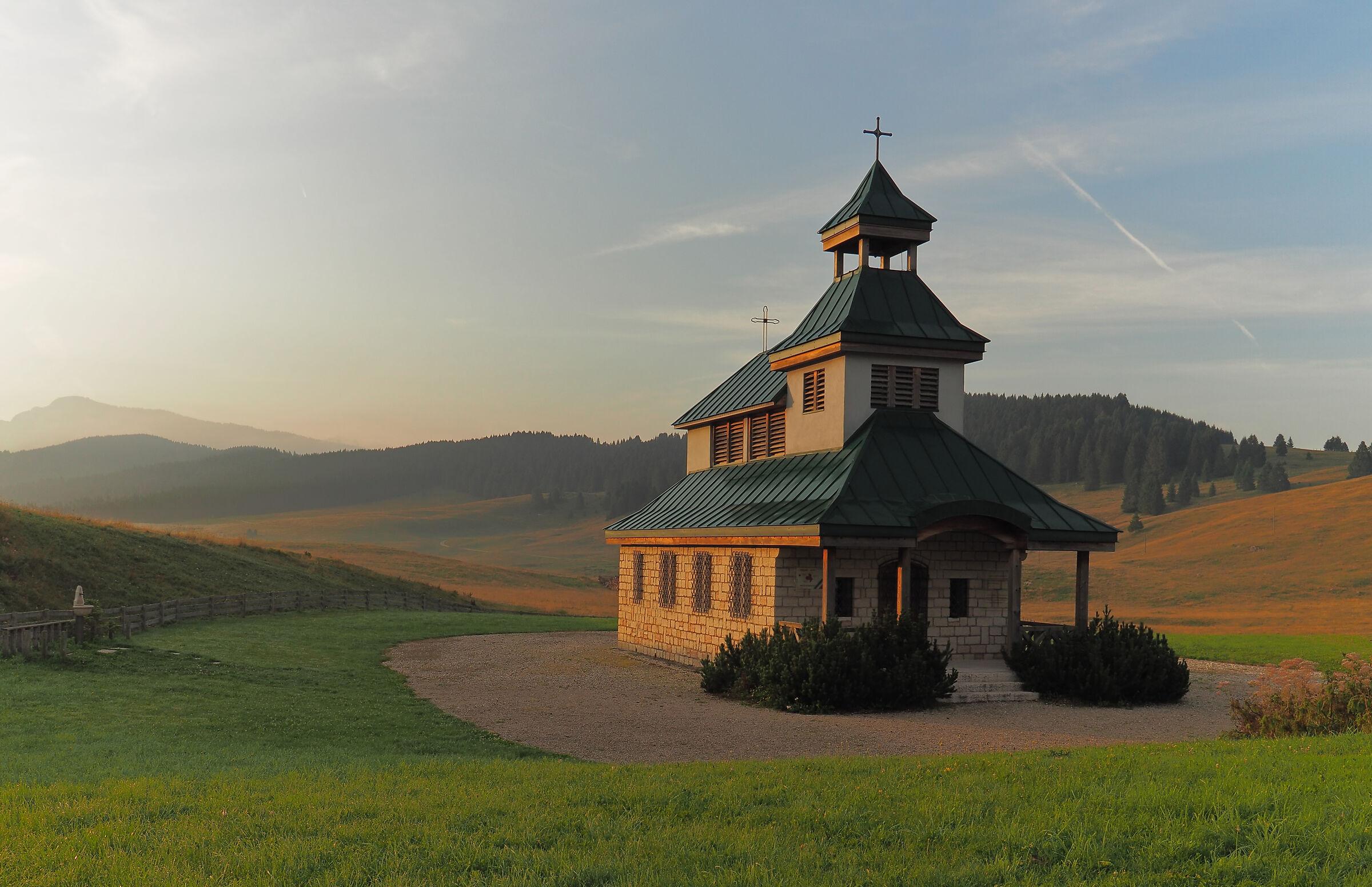 Chapel of St. Zita, Vezzena Pass...