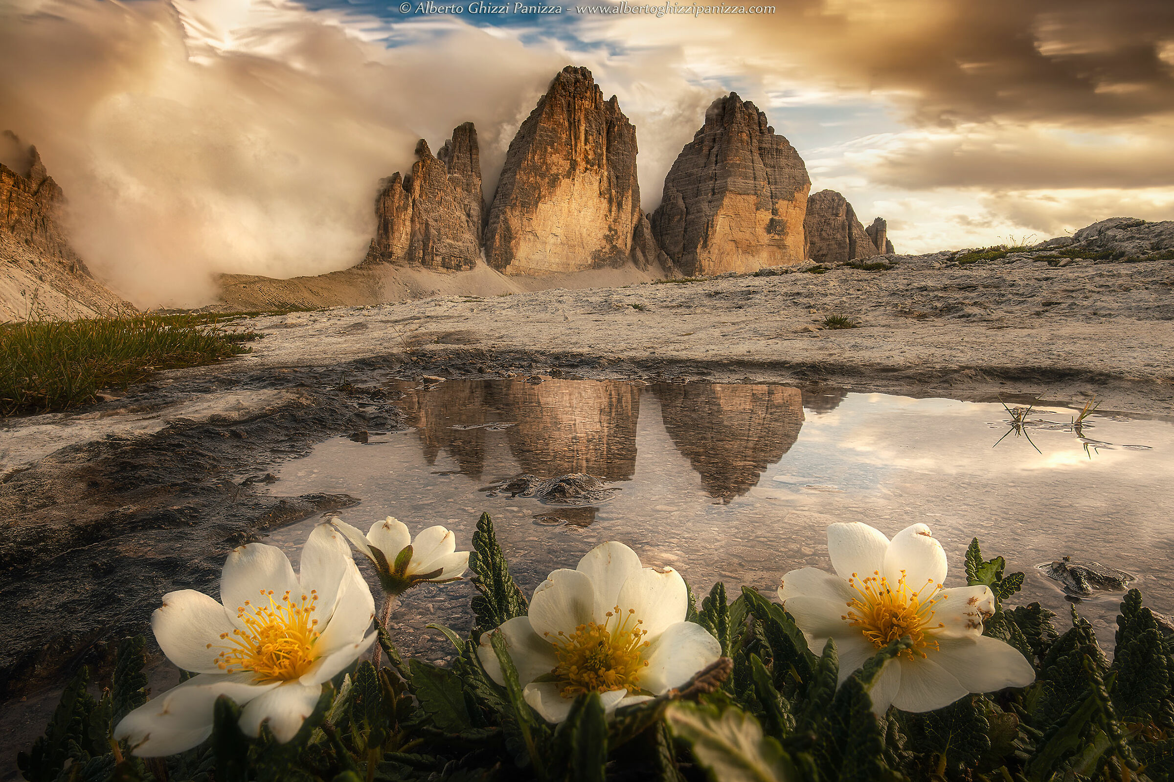 The Three Peaks of Lavaredo always give great emotions...