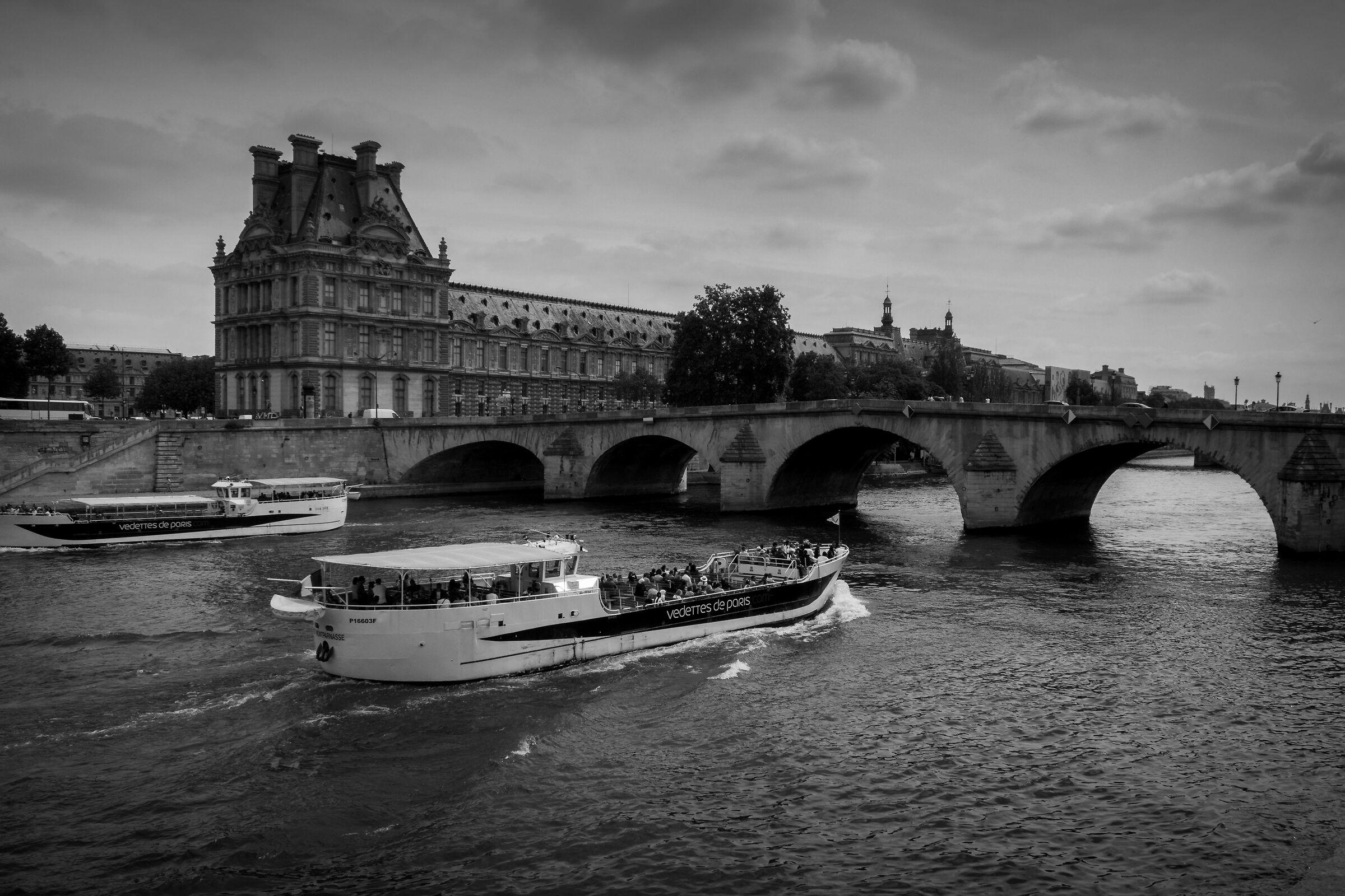 The Seine...