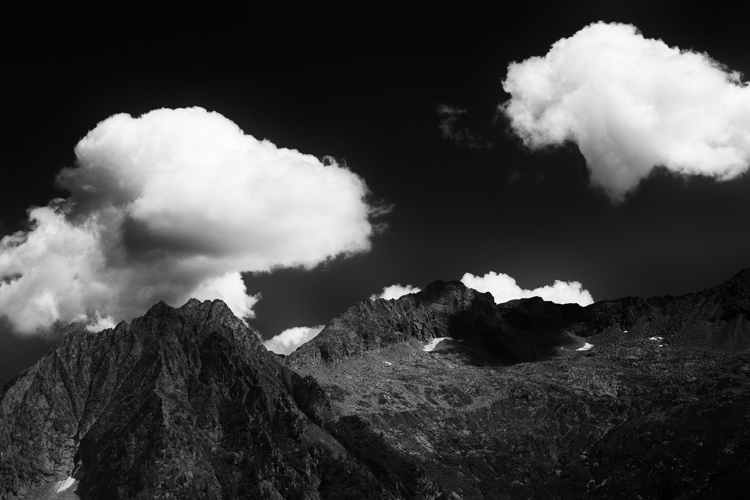 Alpi ... in B&W...