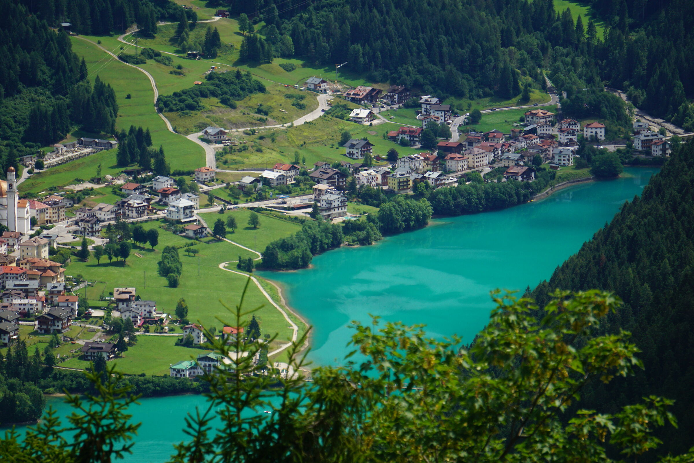Auronzo from above...