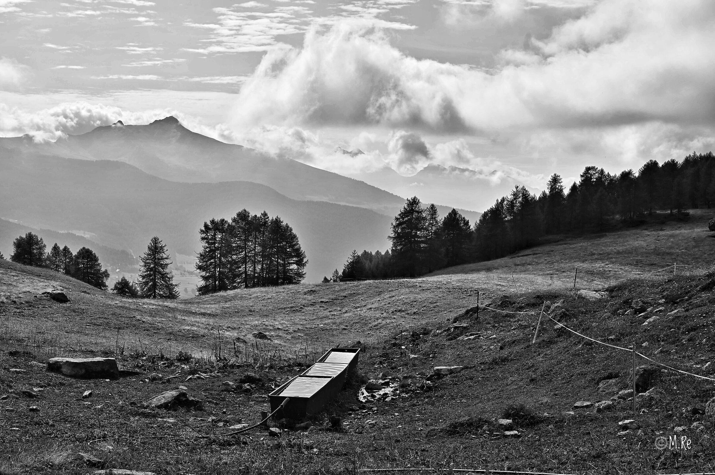 Mountain scene...