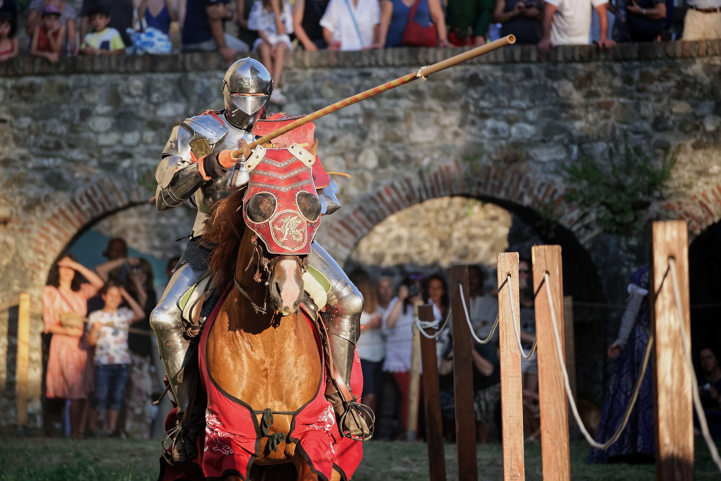 Giostra Medioevale a cavallo II...