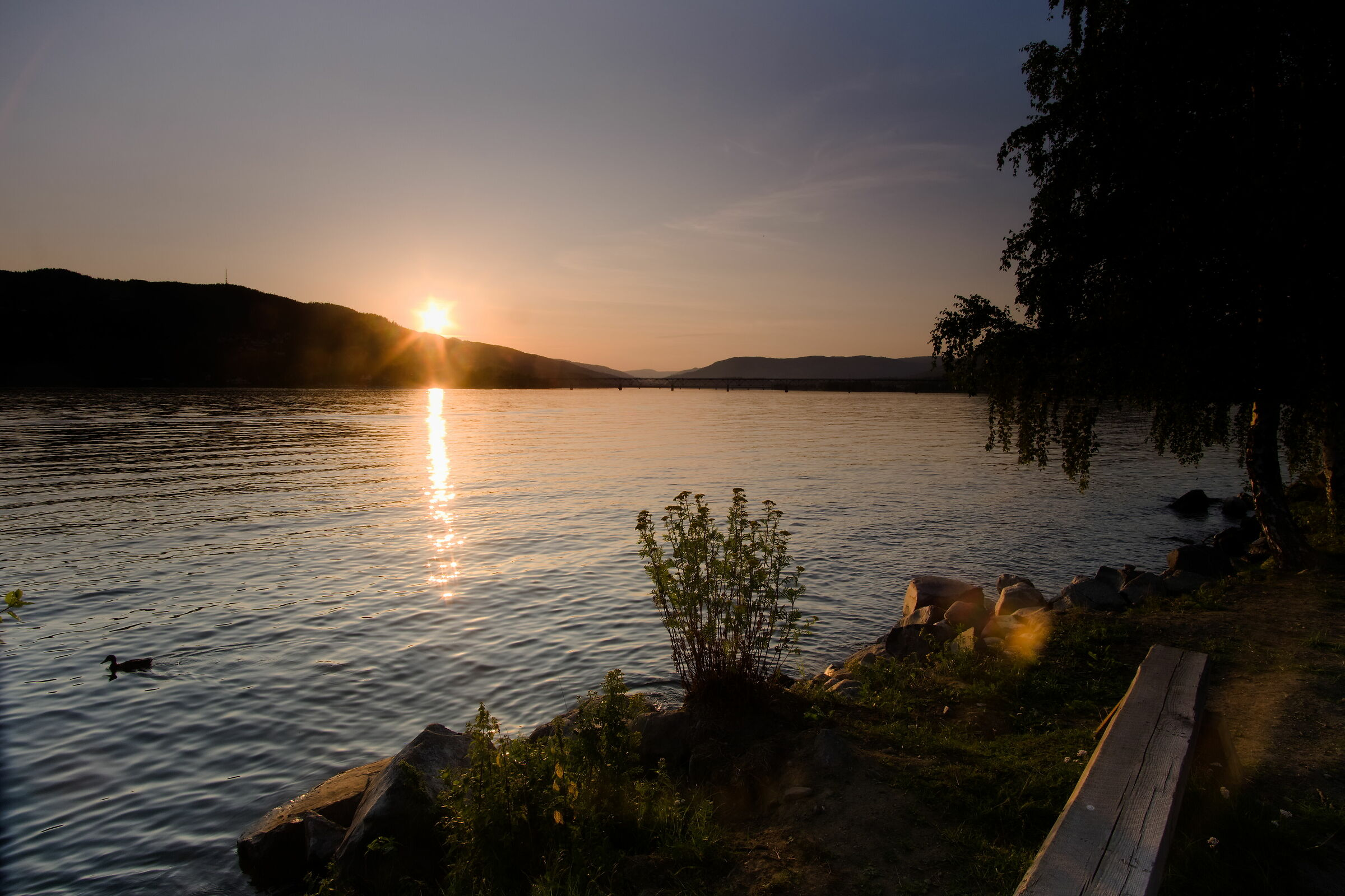 Dal camping di Lillehammer...