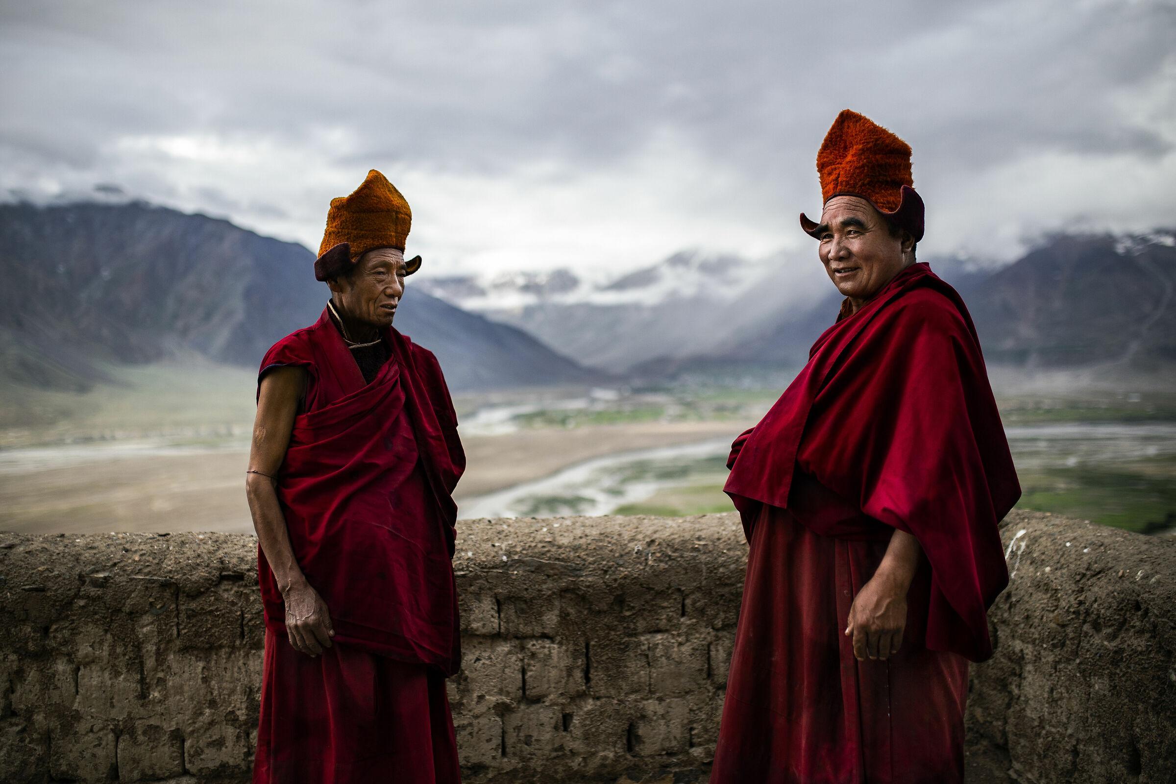 Tibetan monk's life...