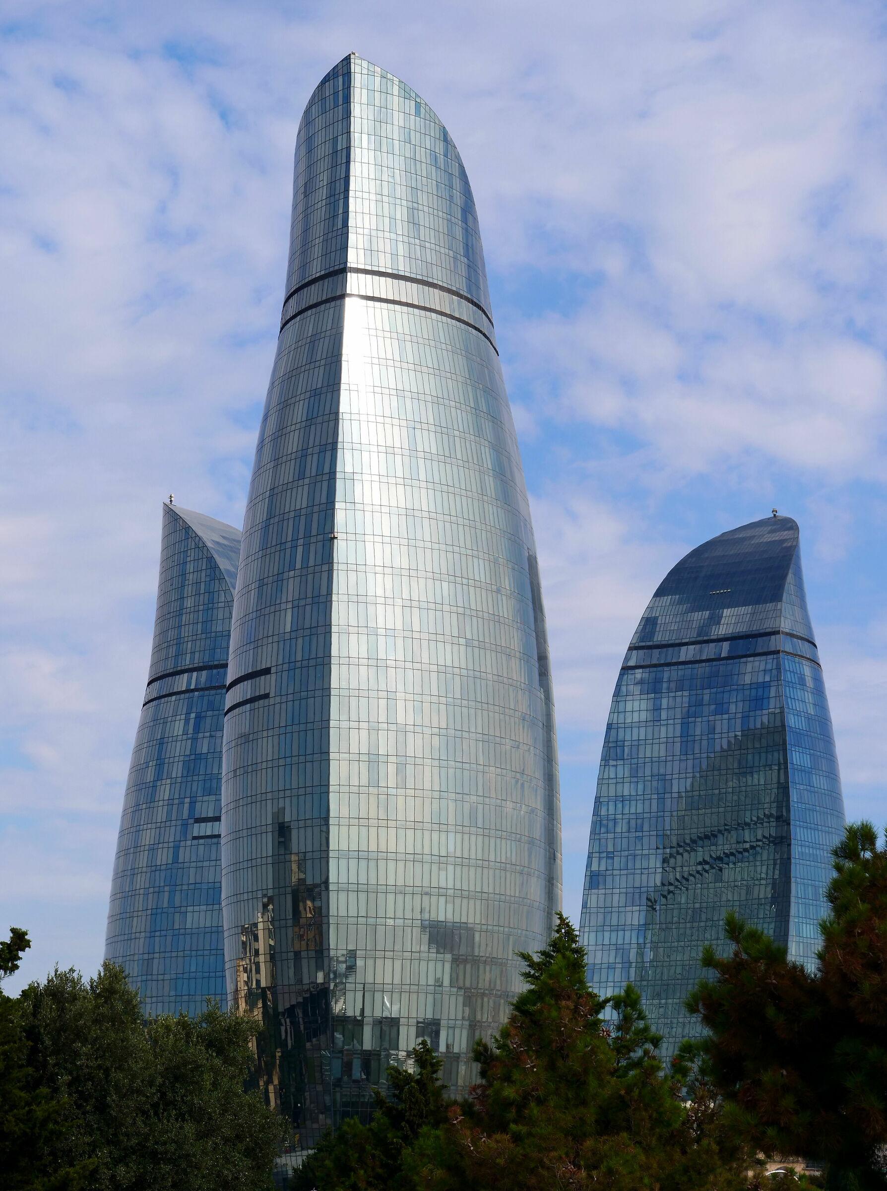 le torri di Baku...