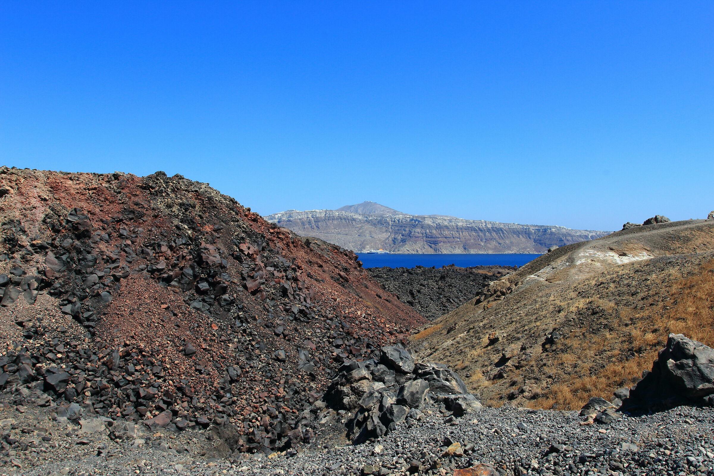 Vista dal vulcano 1...