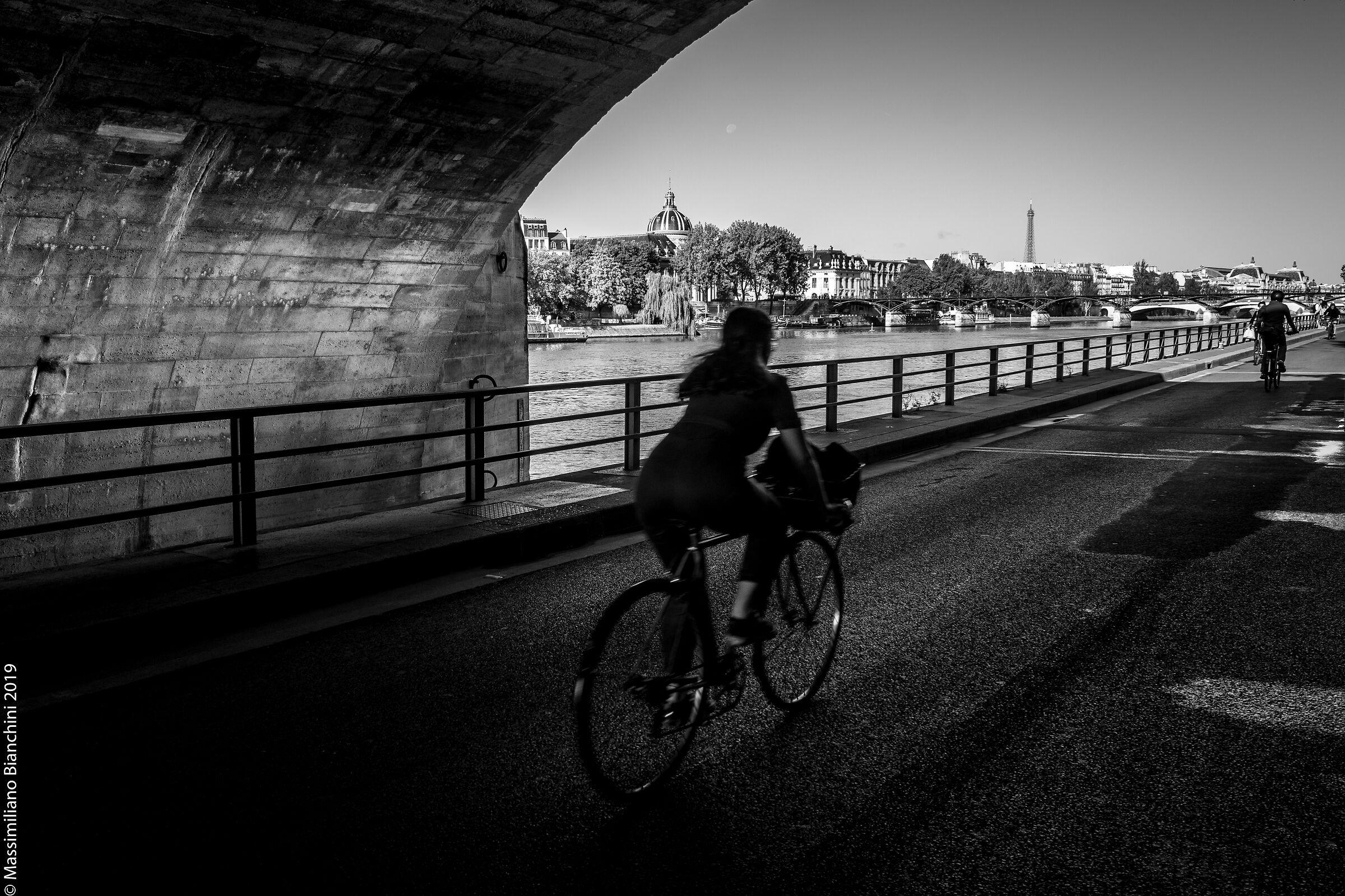 Vélos parisiens...