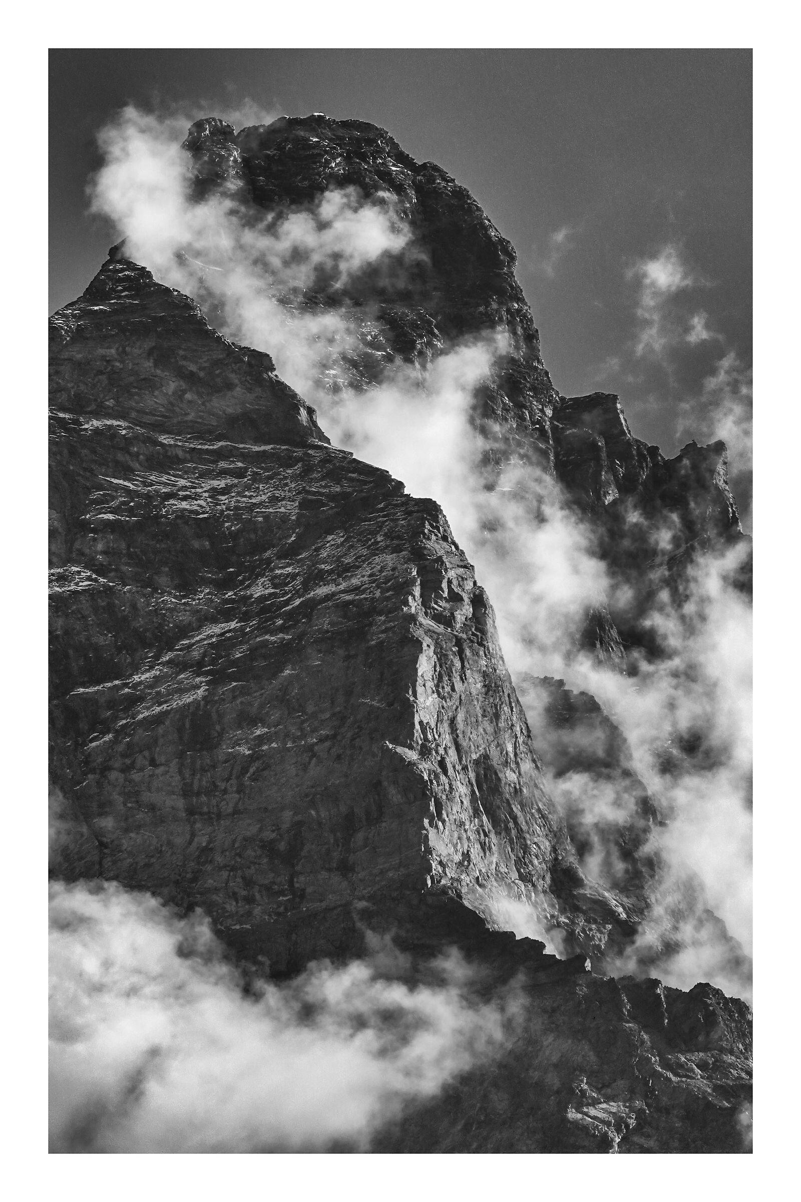 The awakening of the Giant.... Matterhorn, Matterhorn...