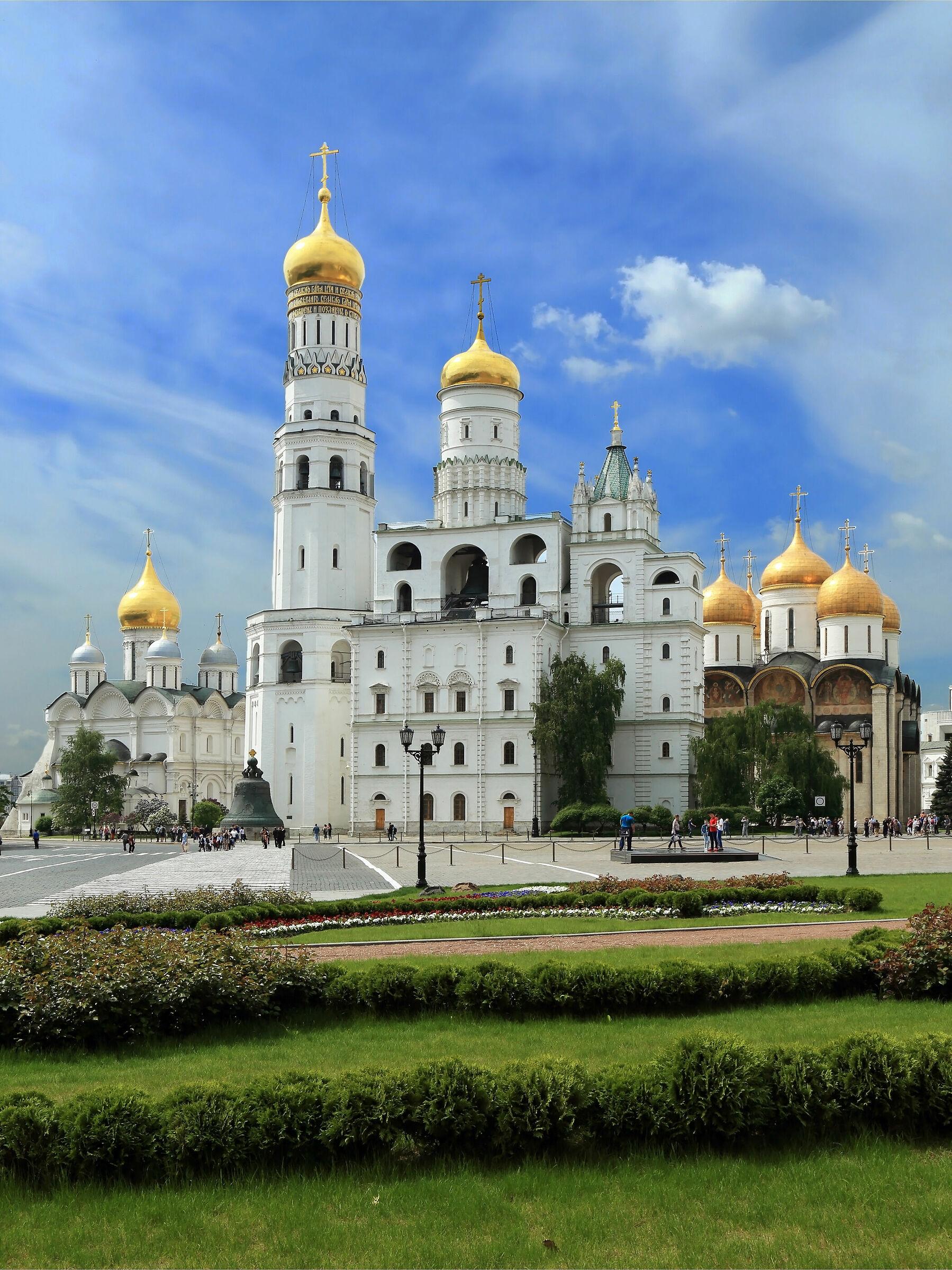 Cremlino dalla Piazza Ivanovskaya...