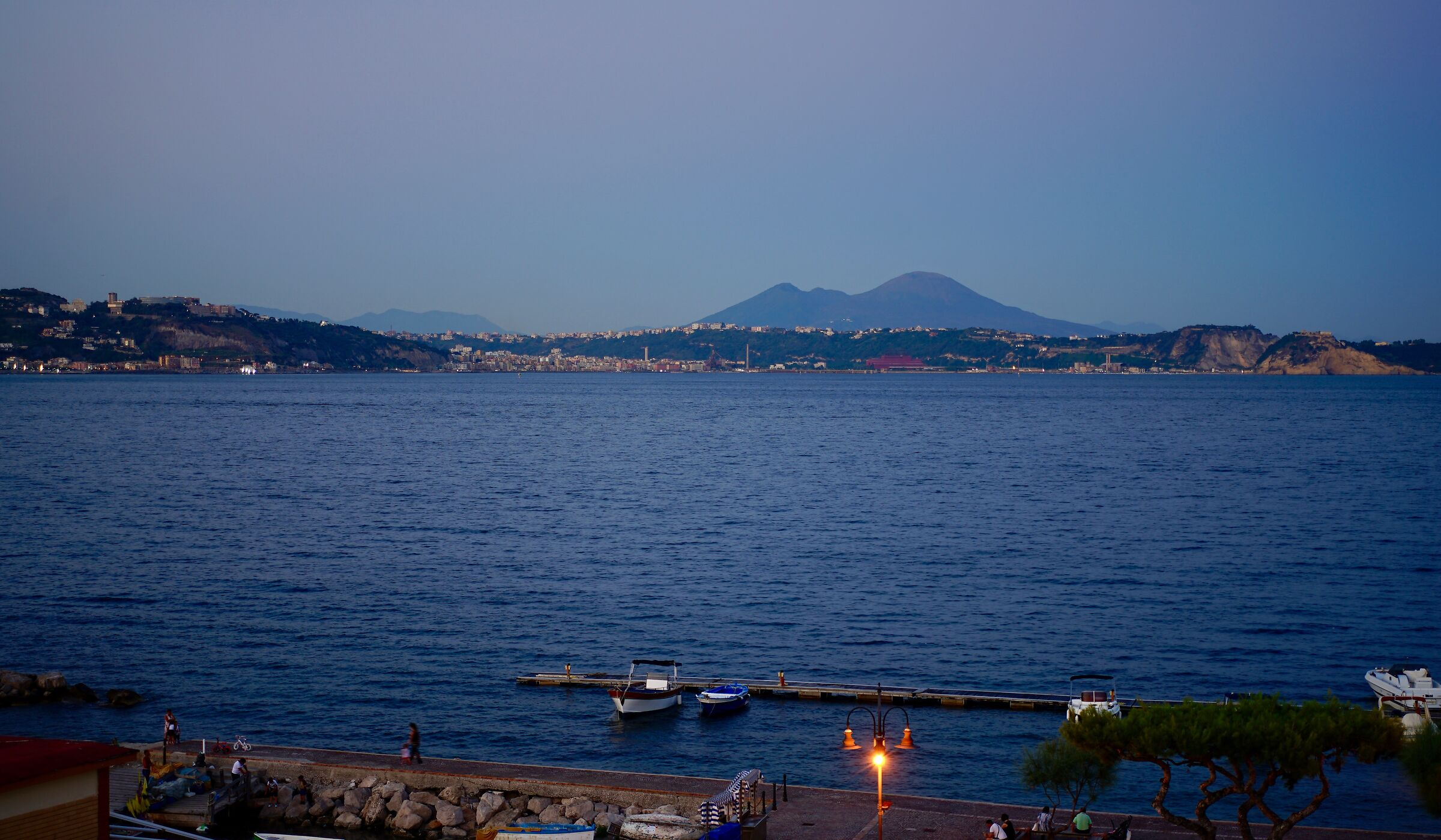Vesuvius as seen from Bacoli...