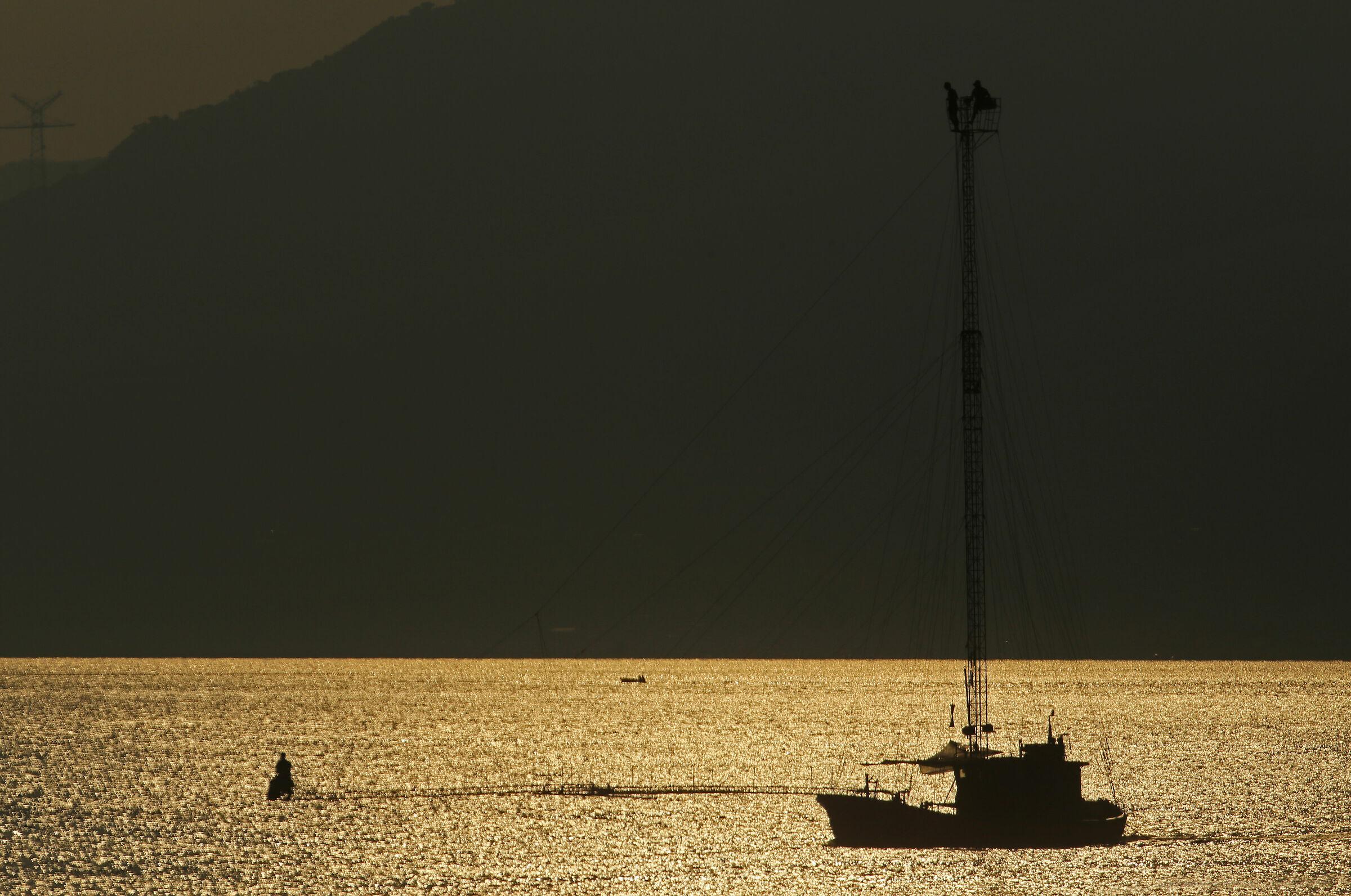 Swordfish fishing on the Strait of Messina 2...