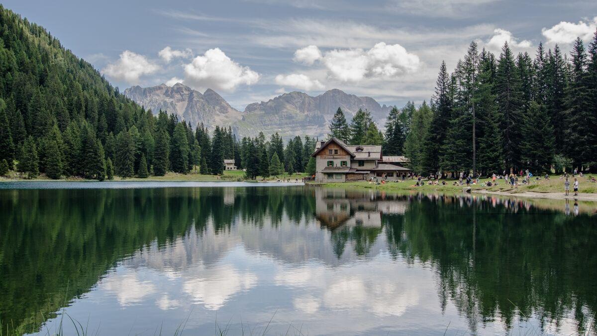 lago Nambino...