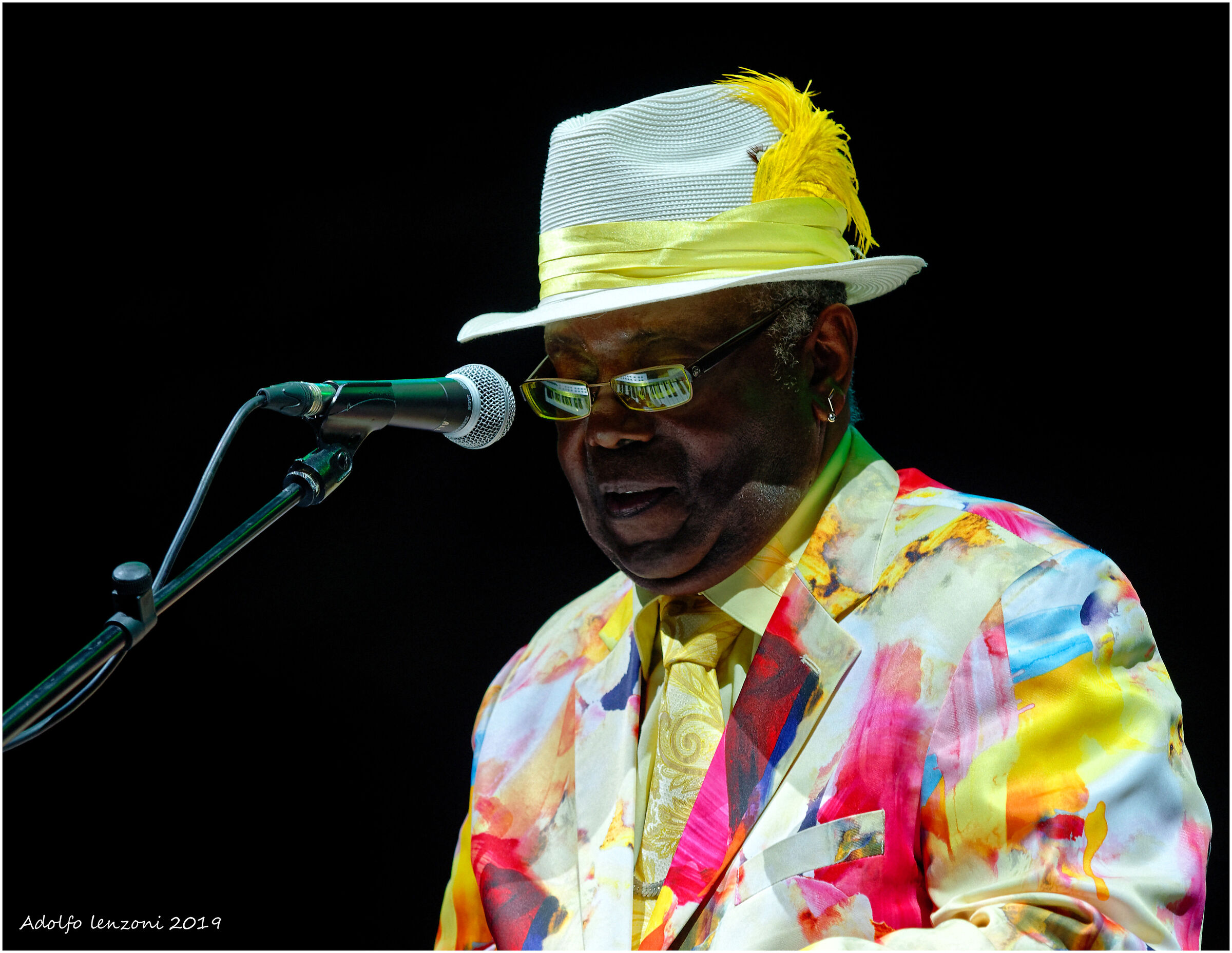 "Kenny ""Blue Boss"" Waine at Seravezza Blues Festival..."