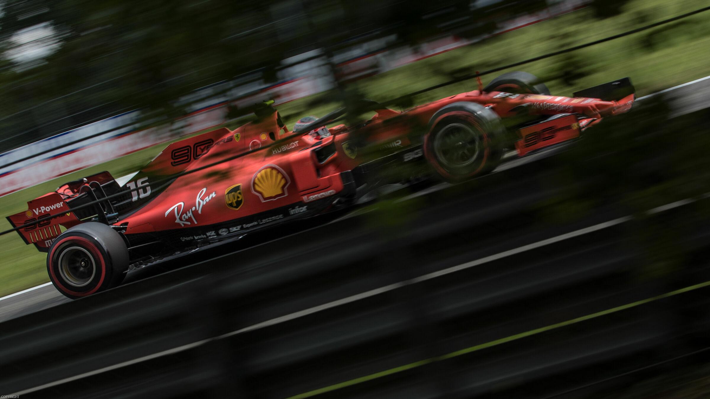 Charles Leclerc - F1 Monza 2019...