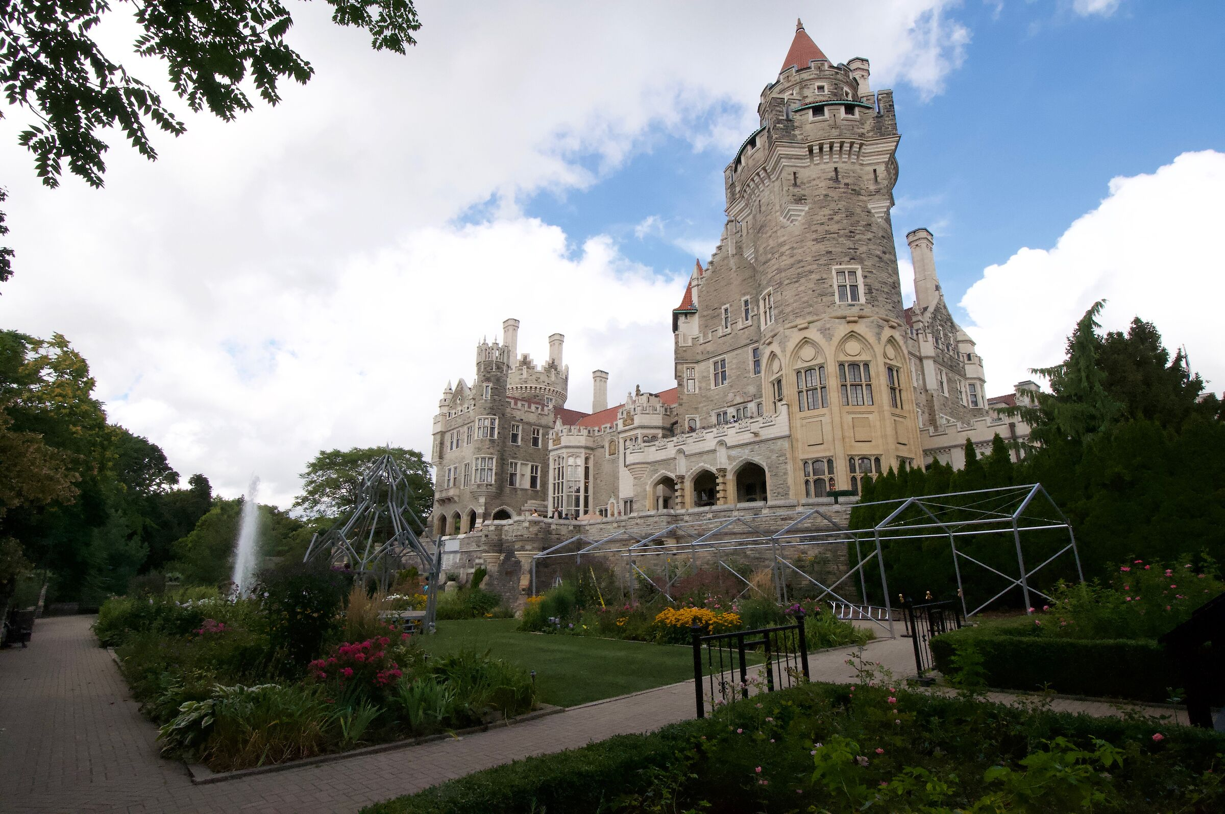 Casaloma Castle in Toronto ......