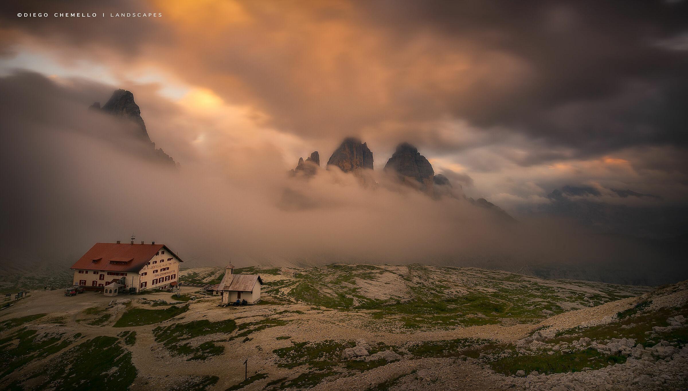 Three Lavaredo Peaks...