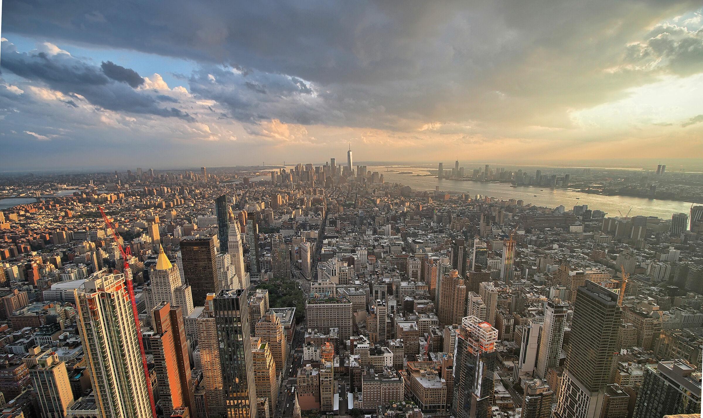 Skyline NYC solito...