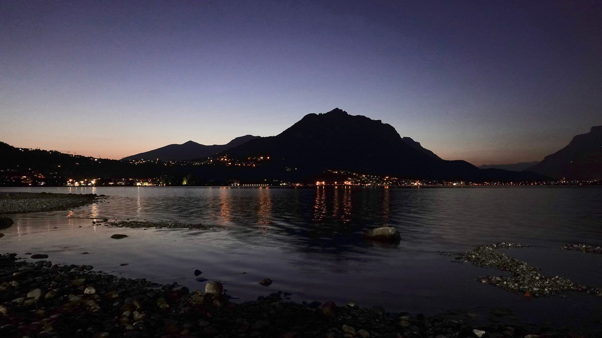 Lake Garlate, sunset 3...