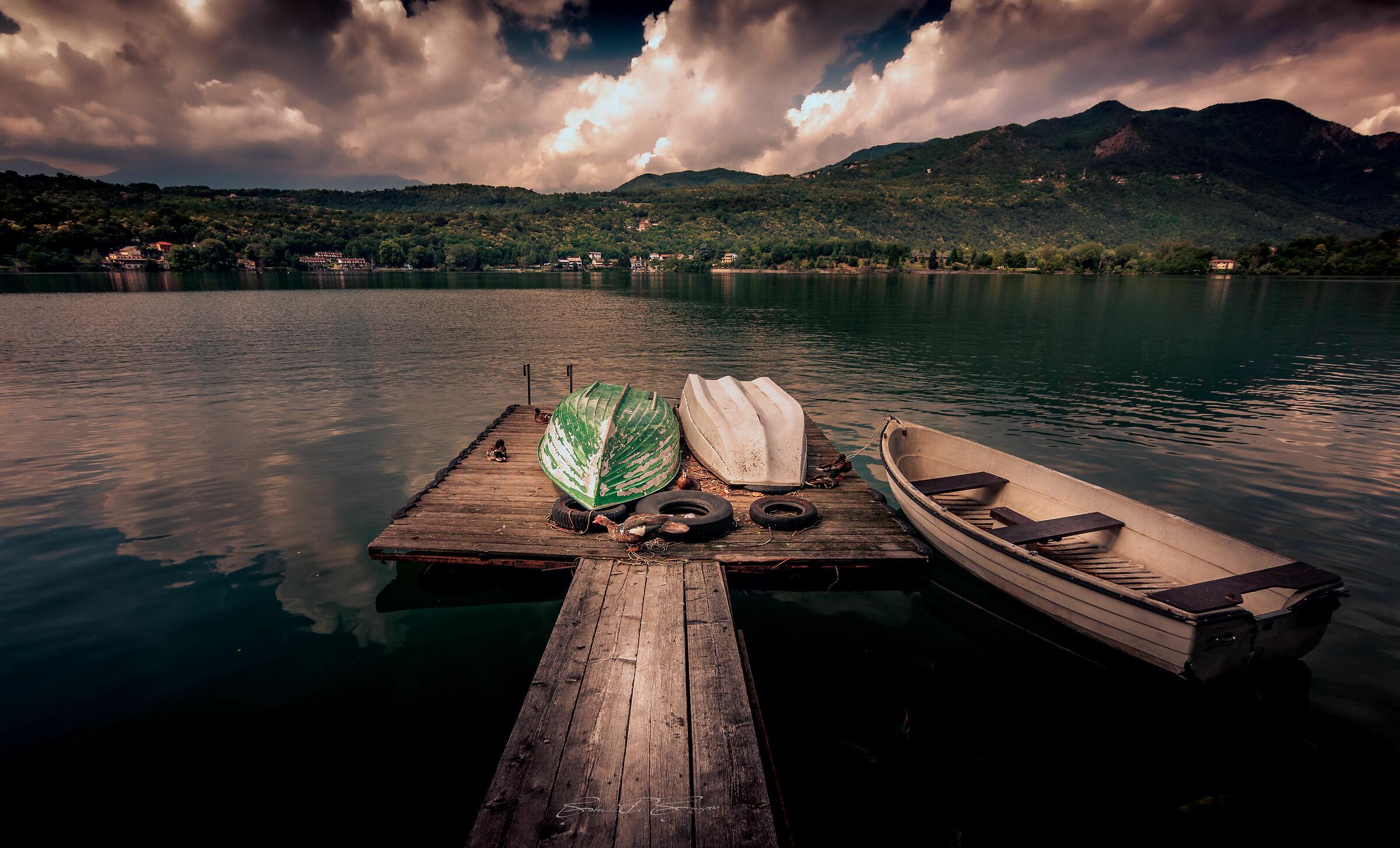 Lake Avigliana Pier...