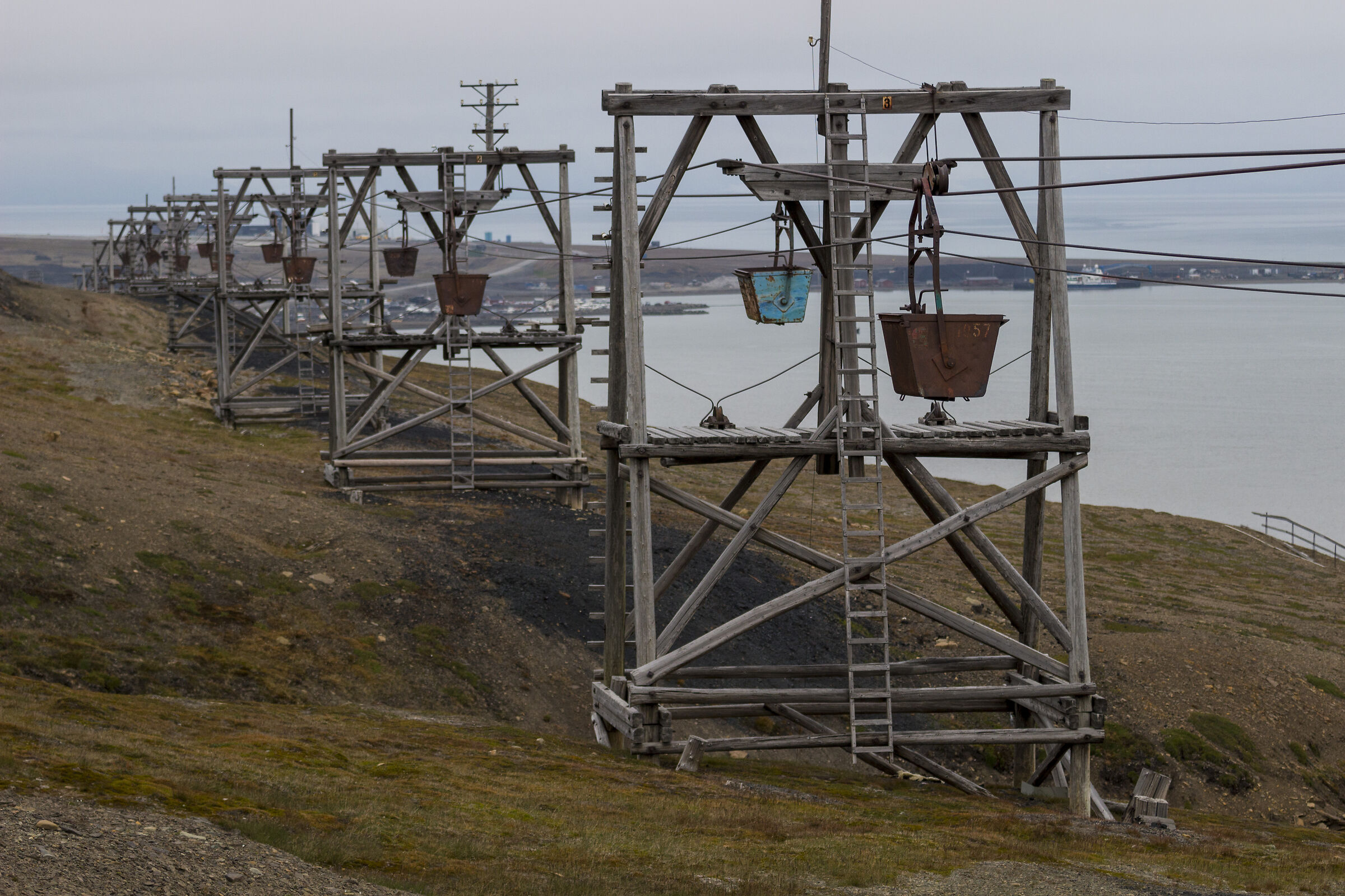 Il carbone alle isole Svalbard...