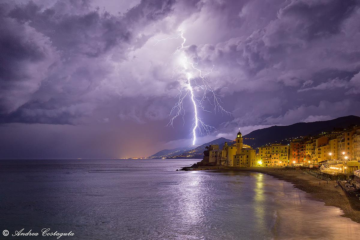 Thunder and lightning...