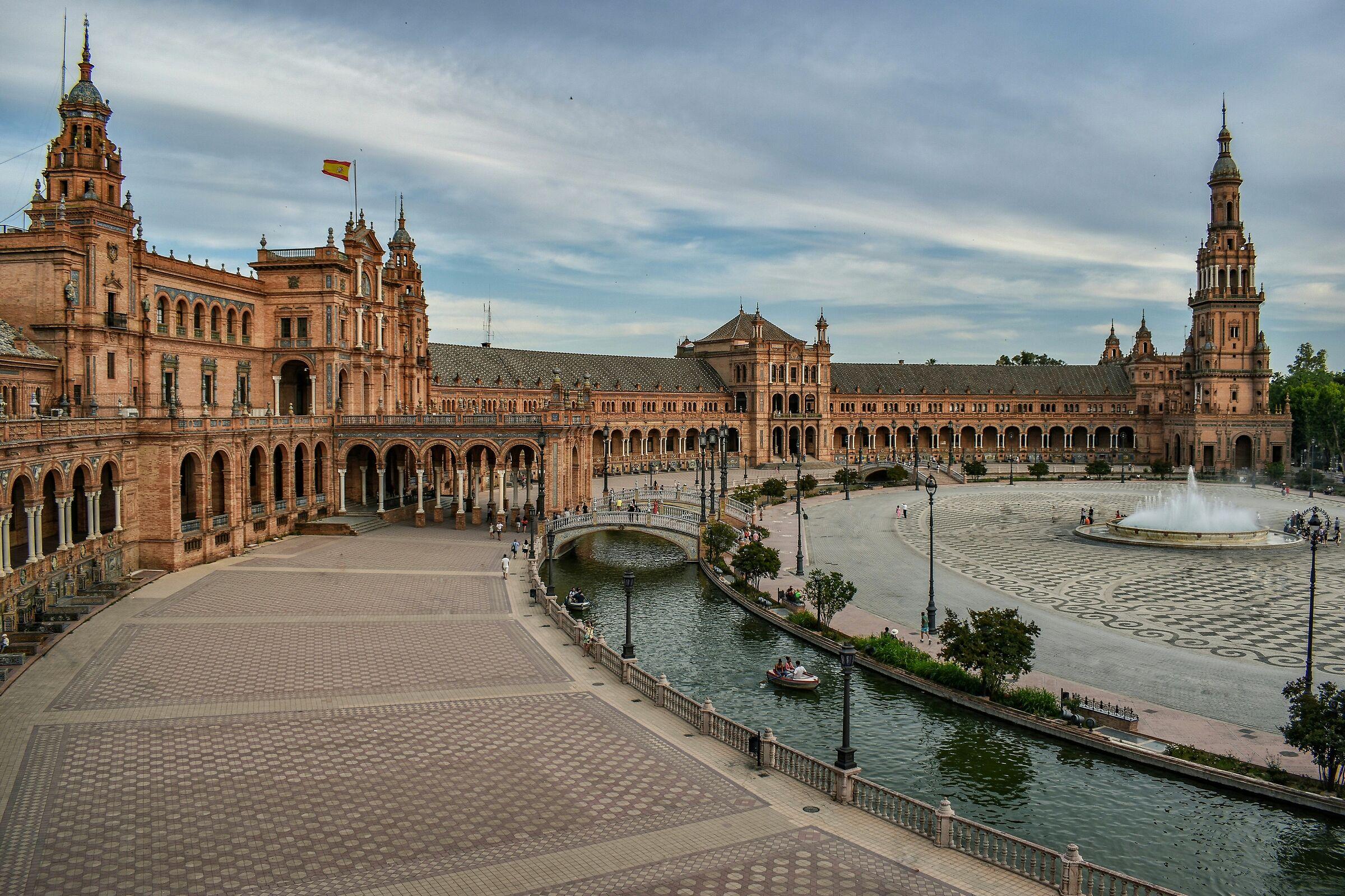 Plaza de España - Siviglia...
