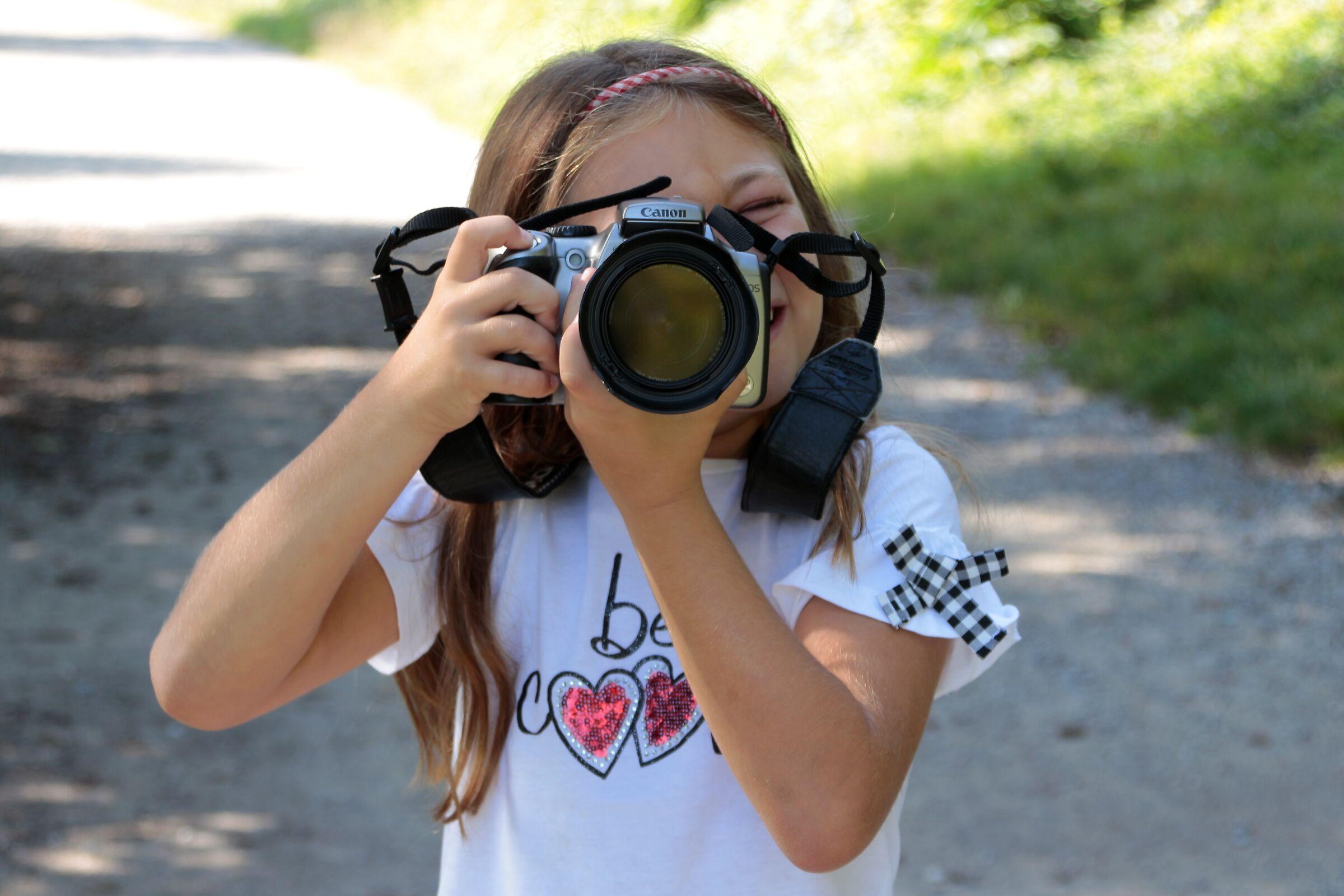 Small photographers grow up...