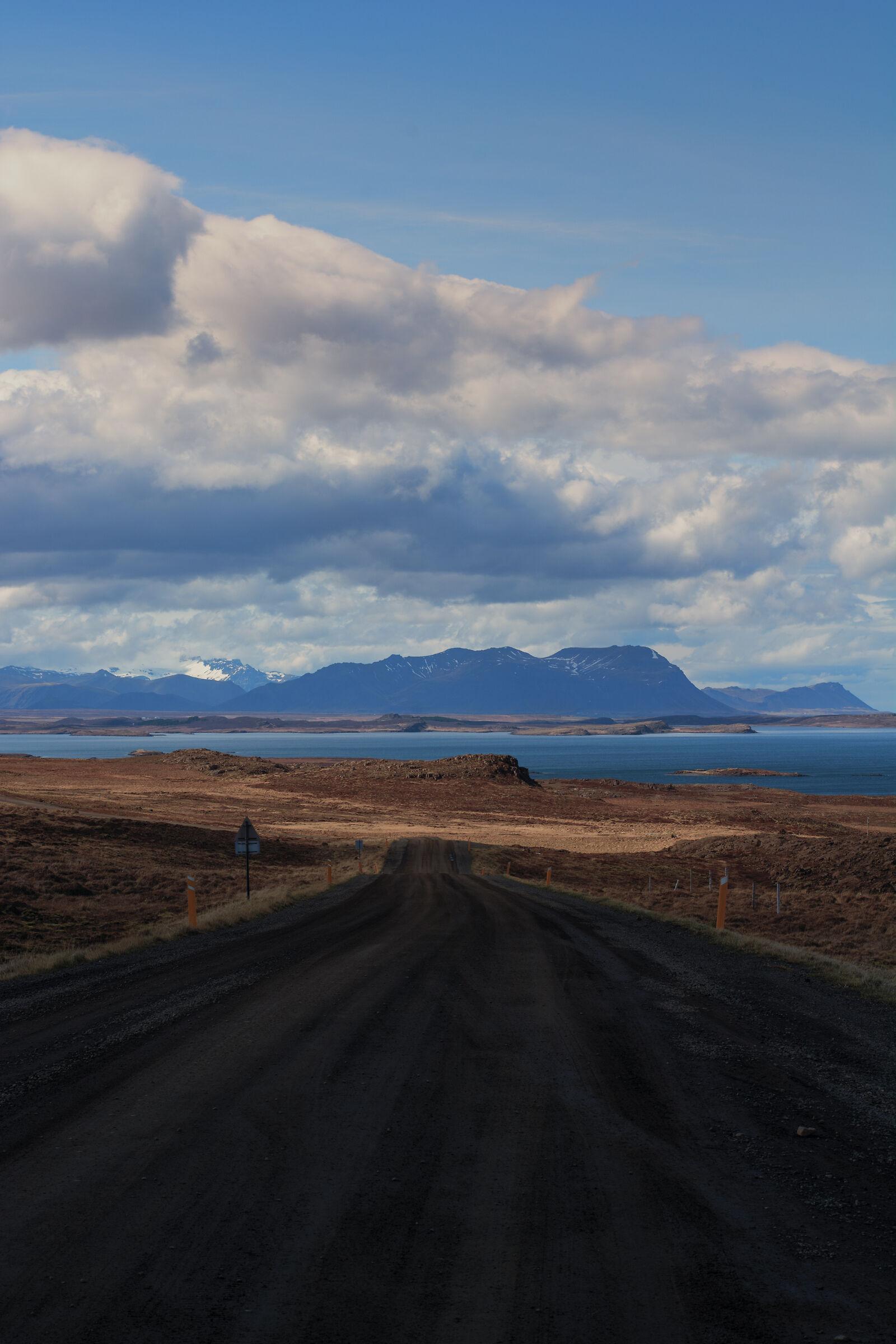 On the road to Kirkjufellsfoss...