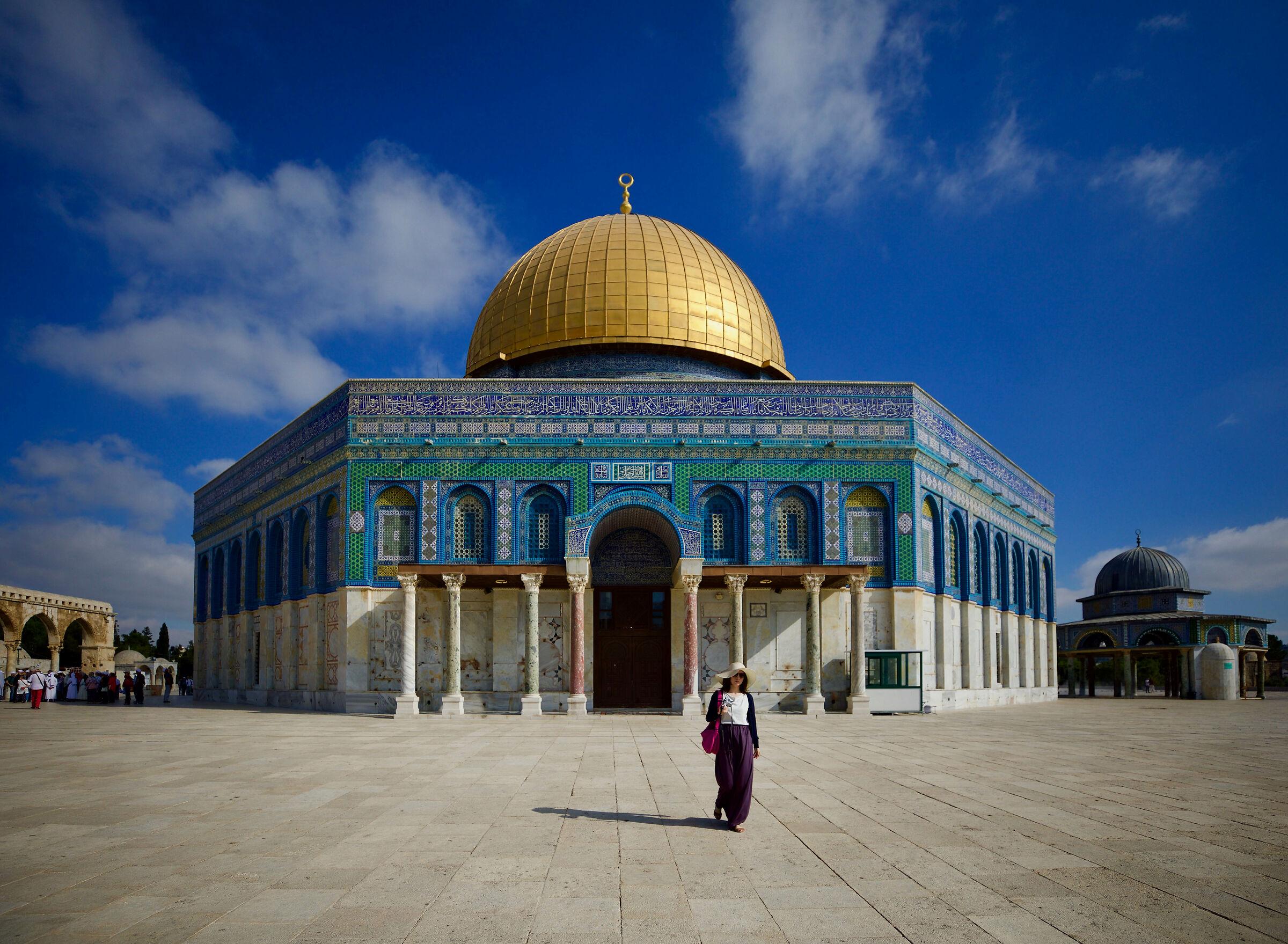 The Dome of the Rock - Jerusalem...