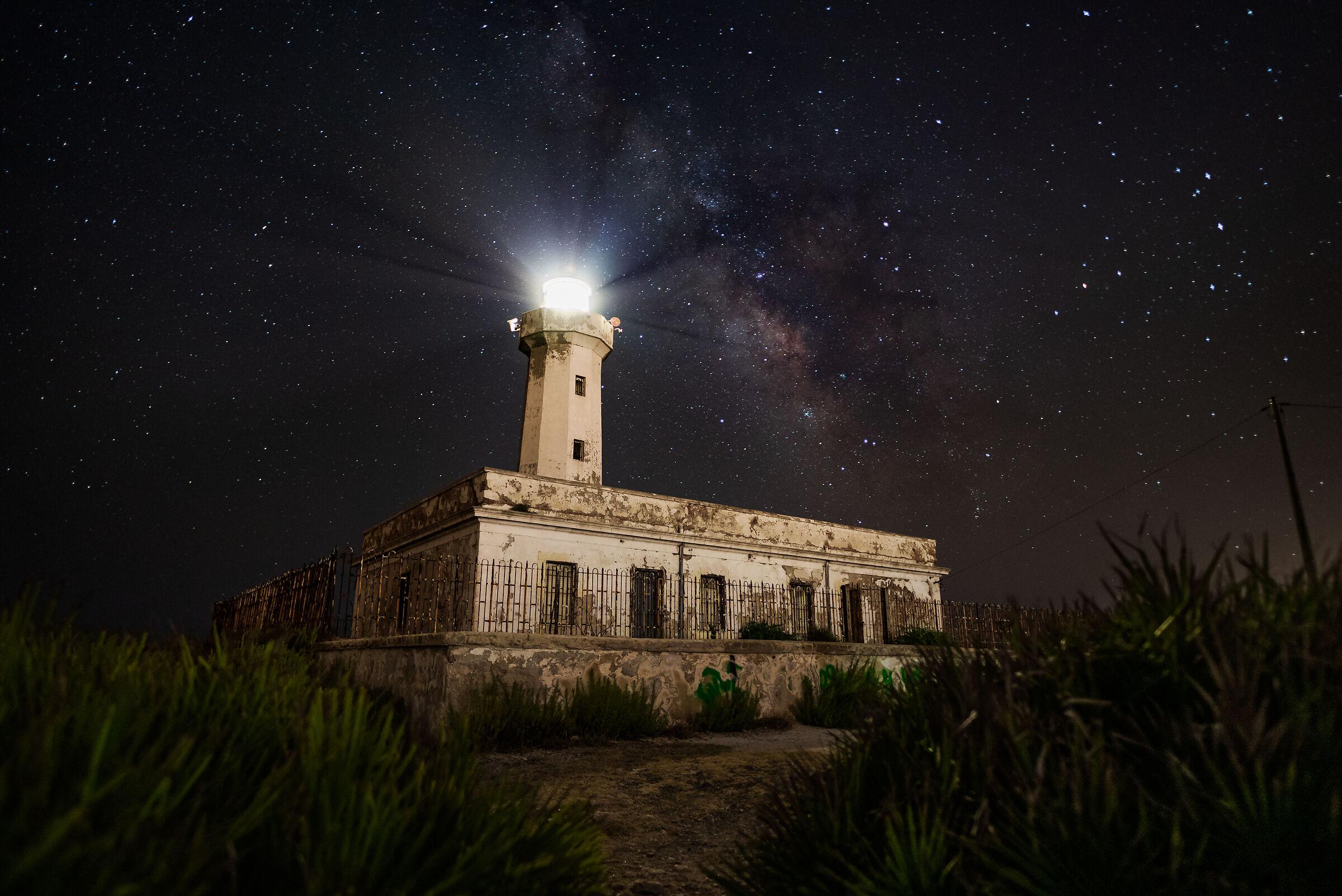 Milky Way on the Plemmirio...